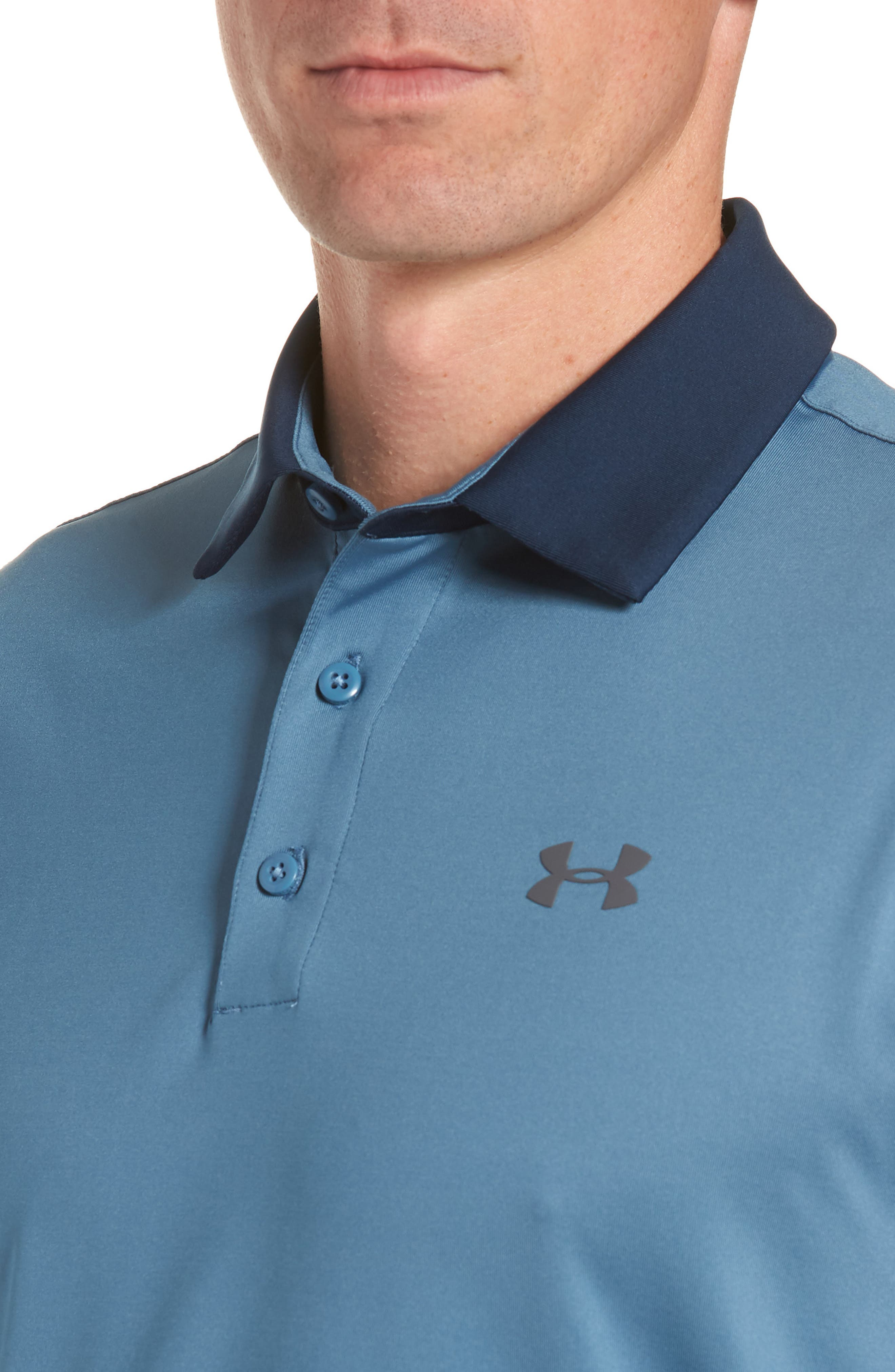 'Playoff' Loose Fit Short Sleeve Polo,                             Alternate thumbnail 180, color,