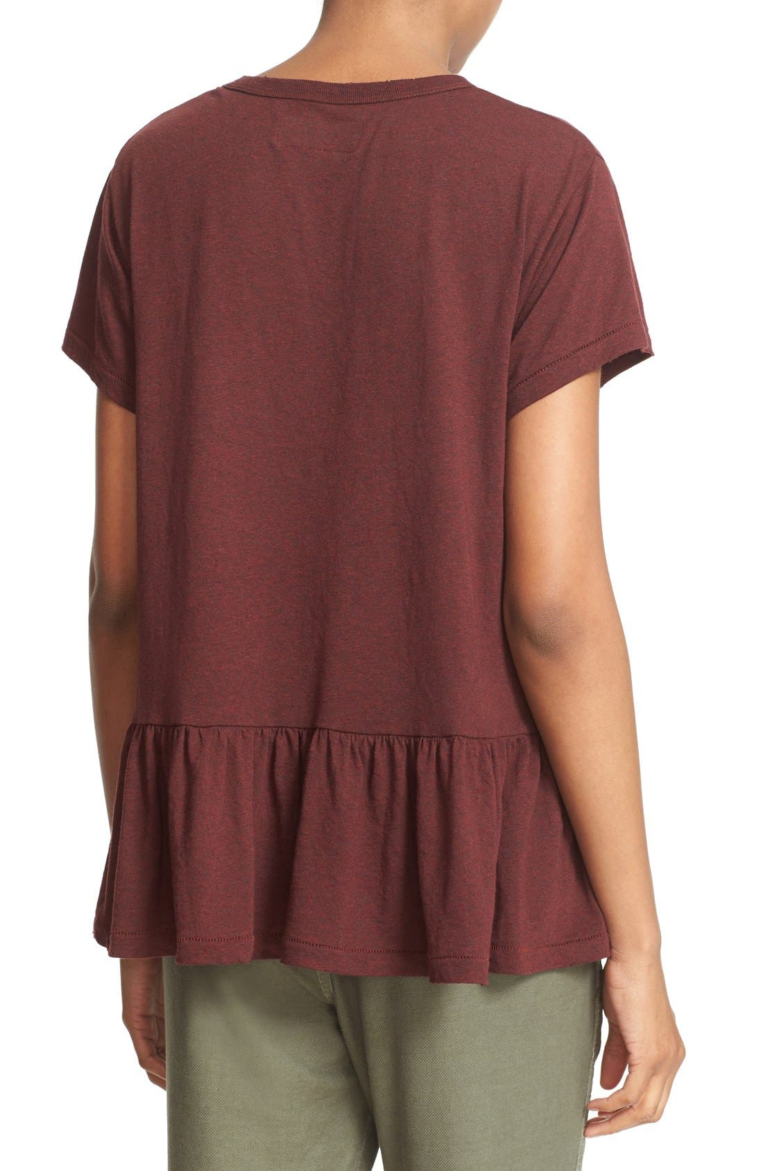 The Ruffle Tee,                             Alternate thumbnail 31, color,