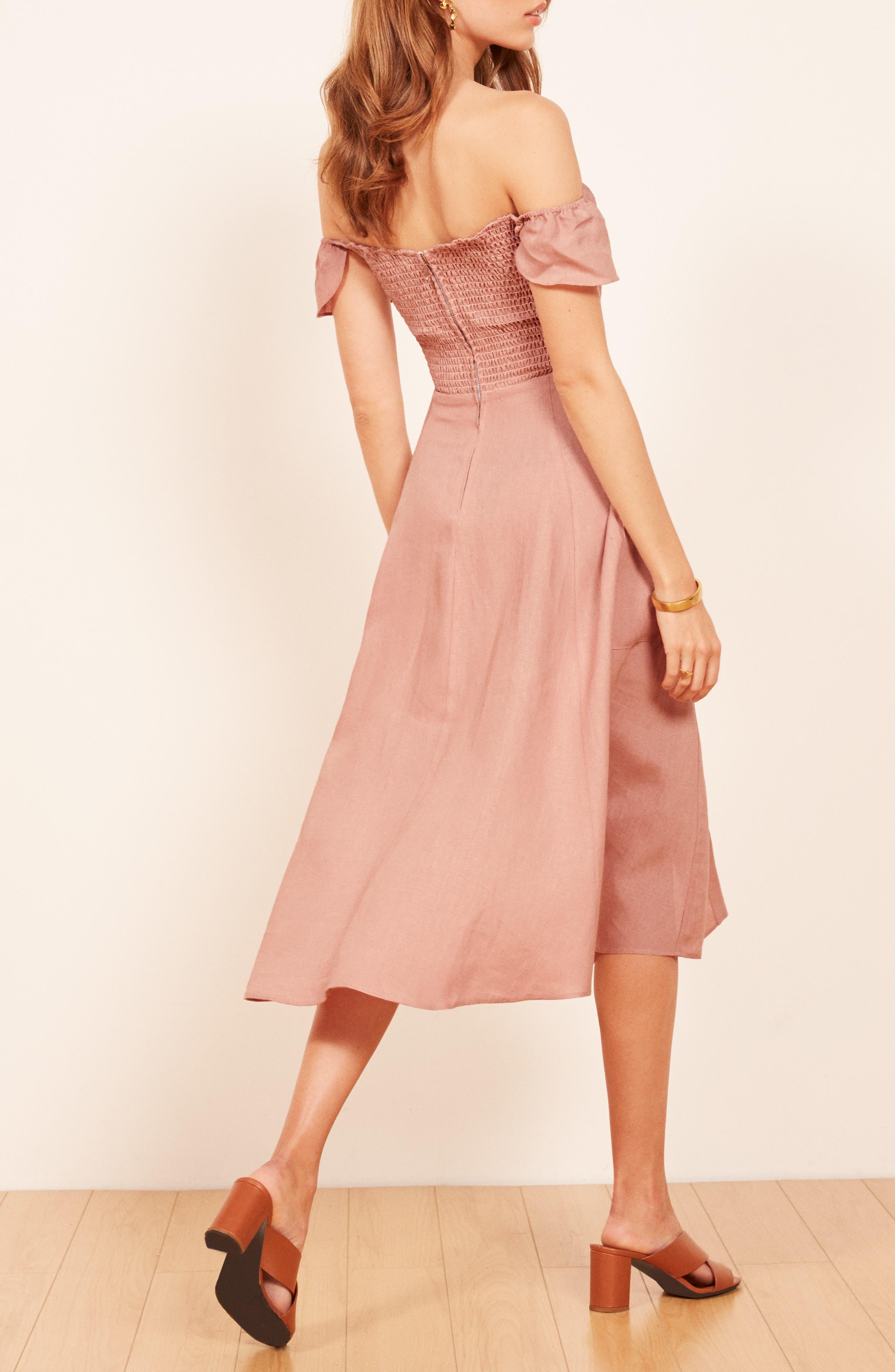 Francis Prairie A-Line Dress,                             Alternate thumbnail 3, color,                             650