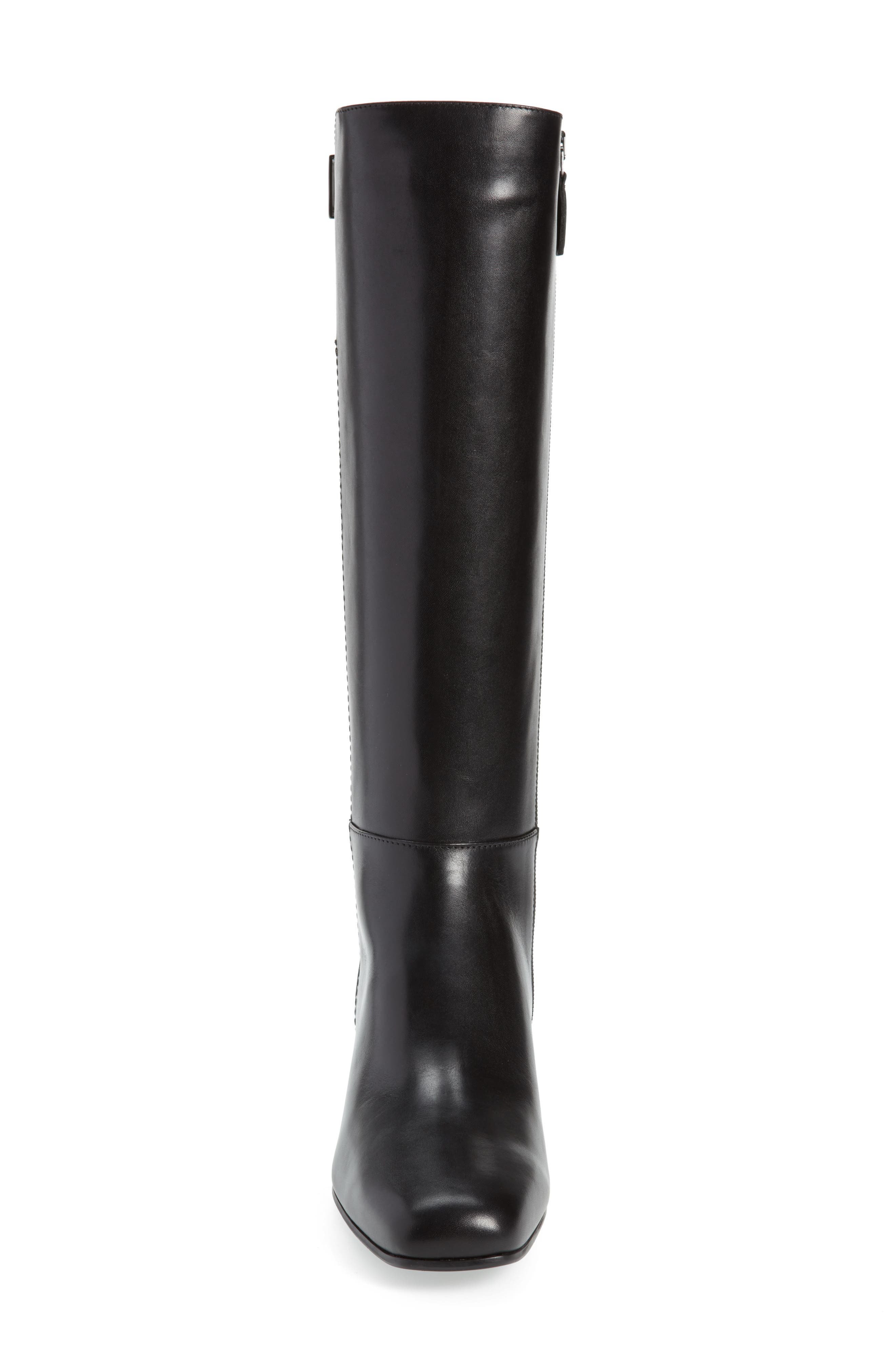 Letizia Weatherproof Boot,                             Alternate thumbnail 4, color,                             BLACK