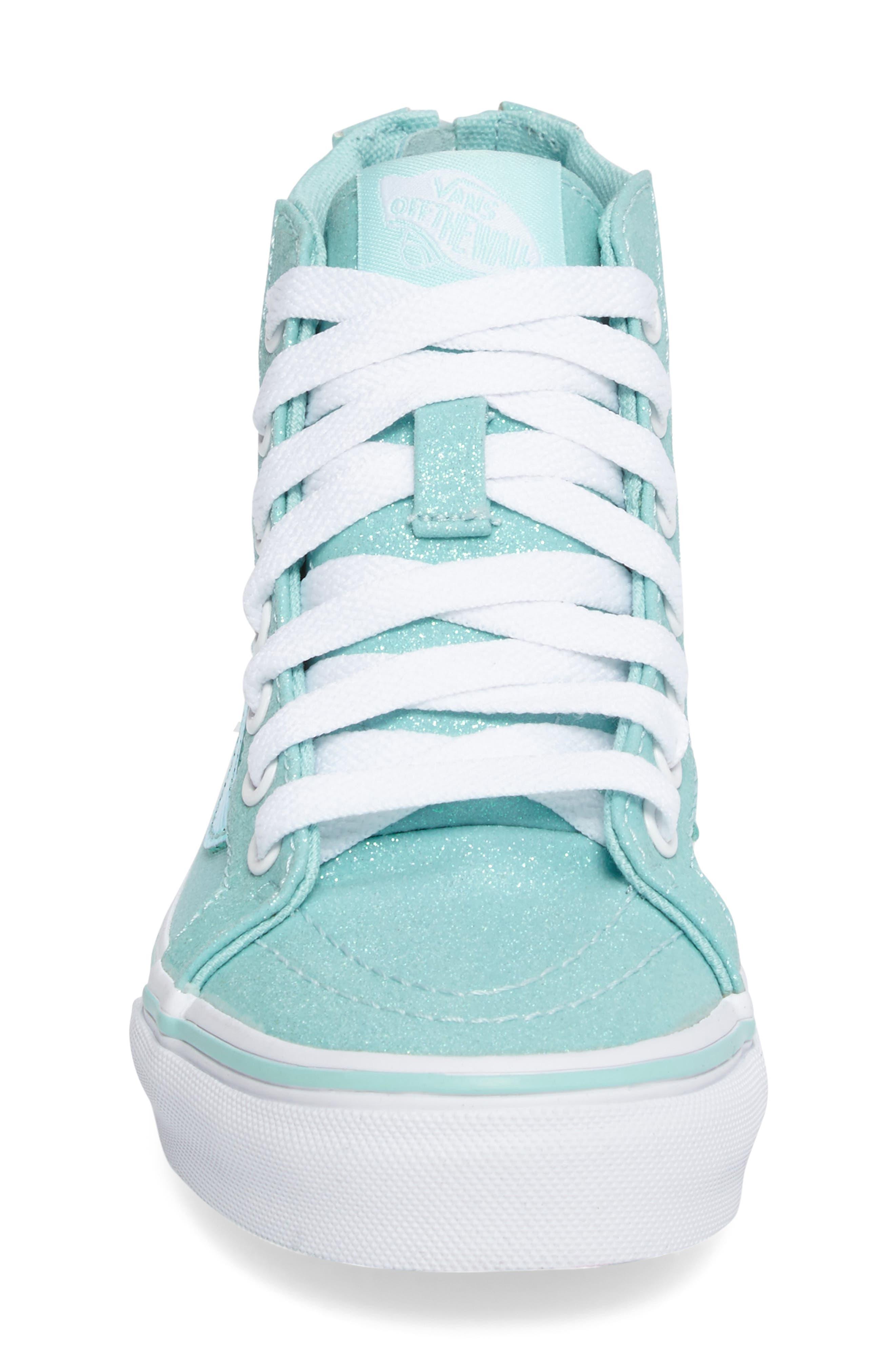 Sk8-Hi Zip Sneaker,                             Alternate thumbnail 4, color,                             450