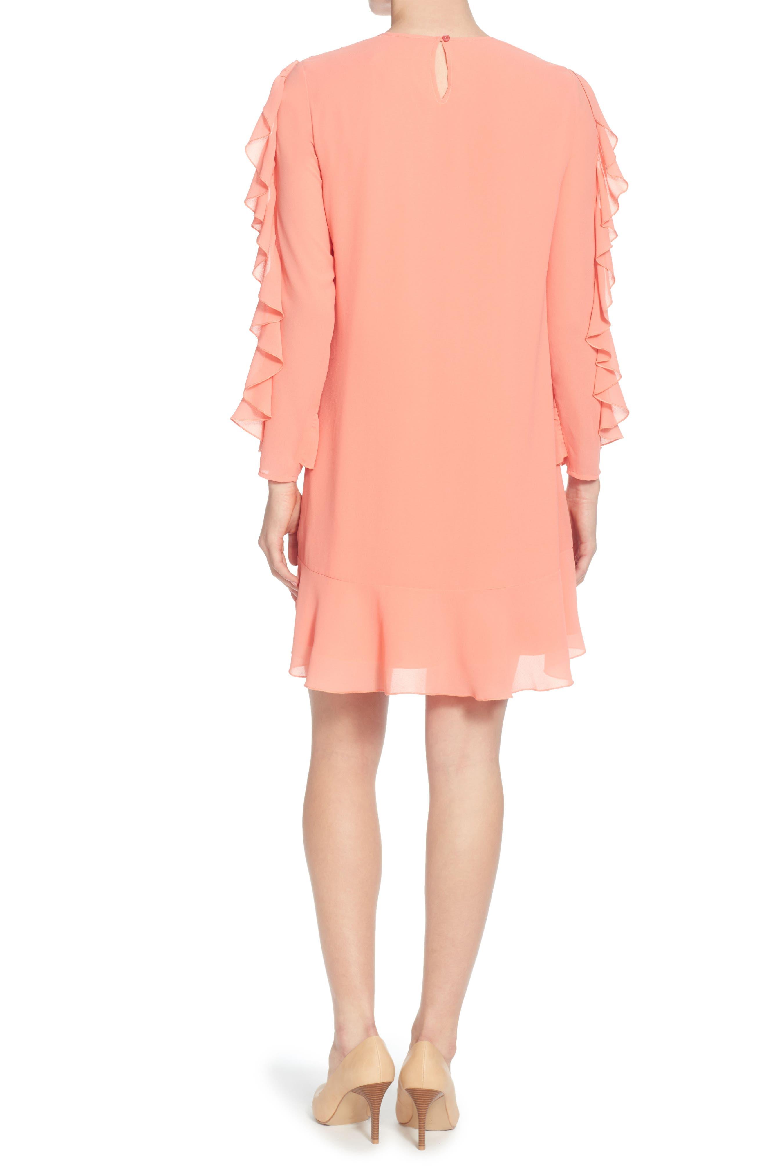 Keely Ruffle Dress,                             Alternate thumbnail 2, color,                             695