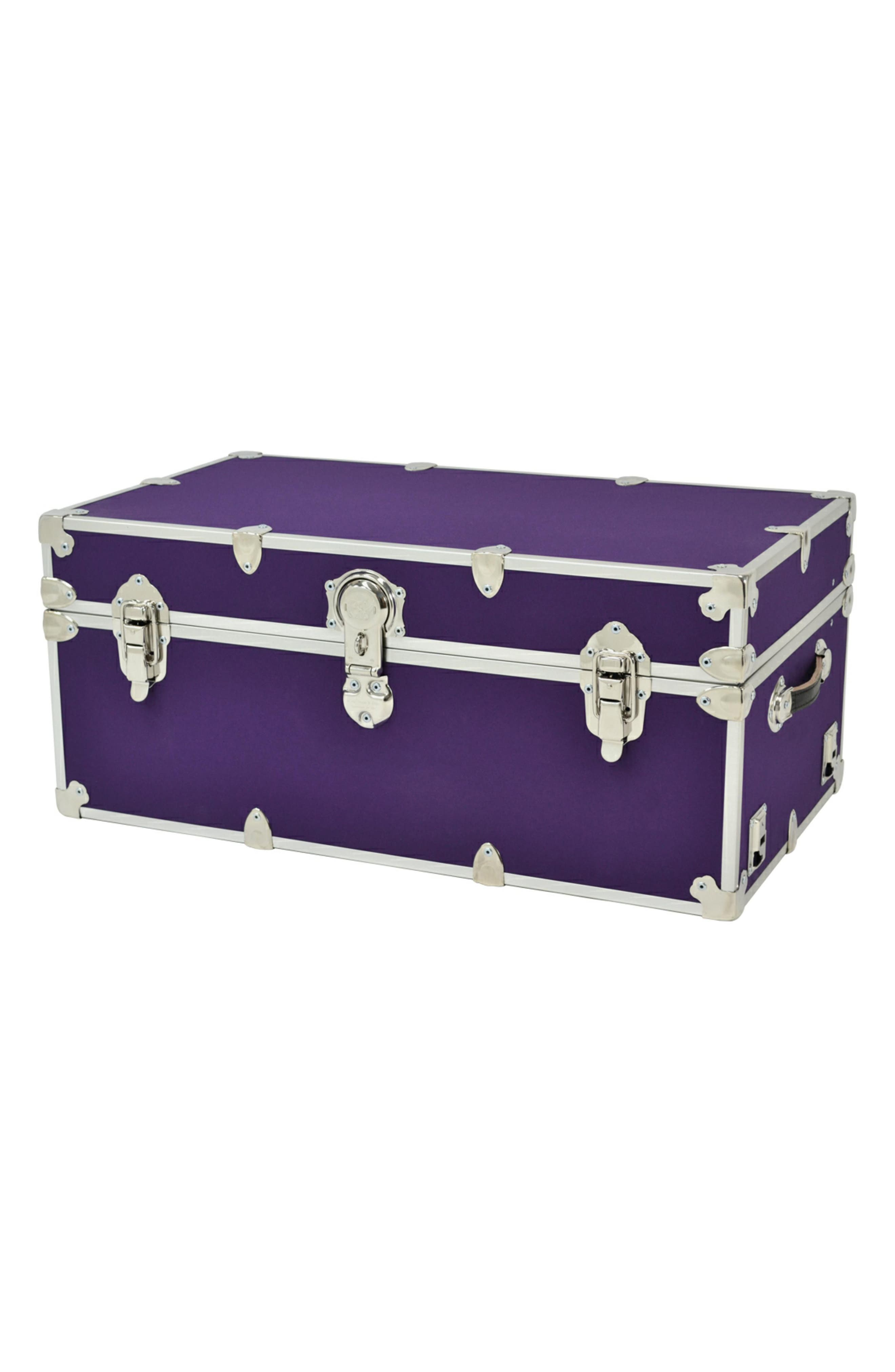 Rhino Trunk  Case Large Armor Trunk Size One Size  Purple