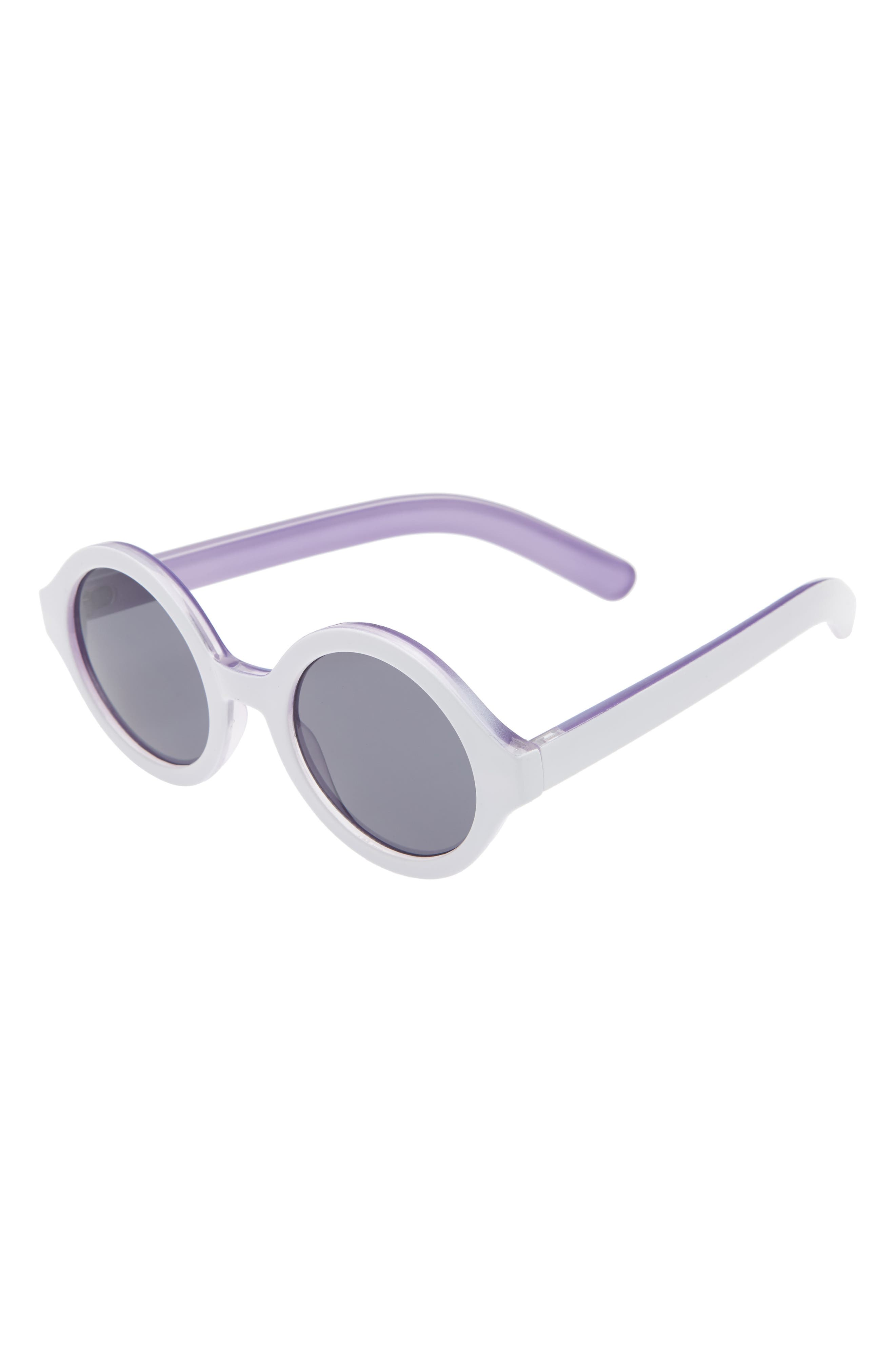 Round Sunglasses,                             Main thumbnail 1, color,