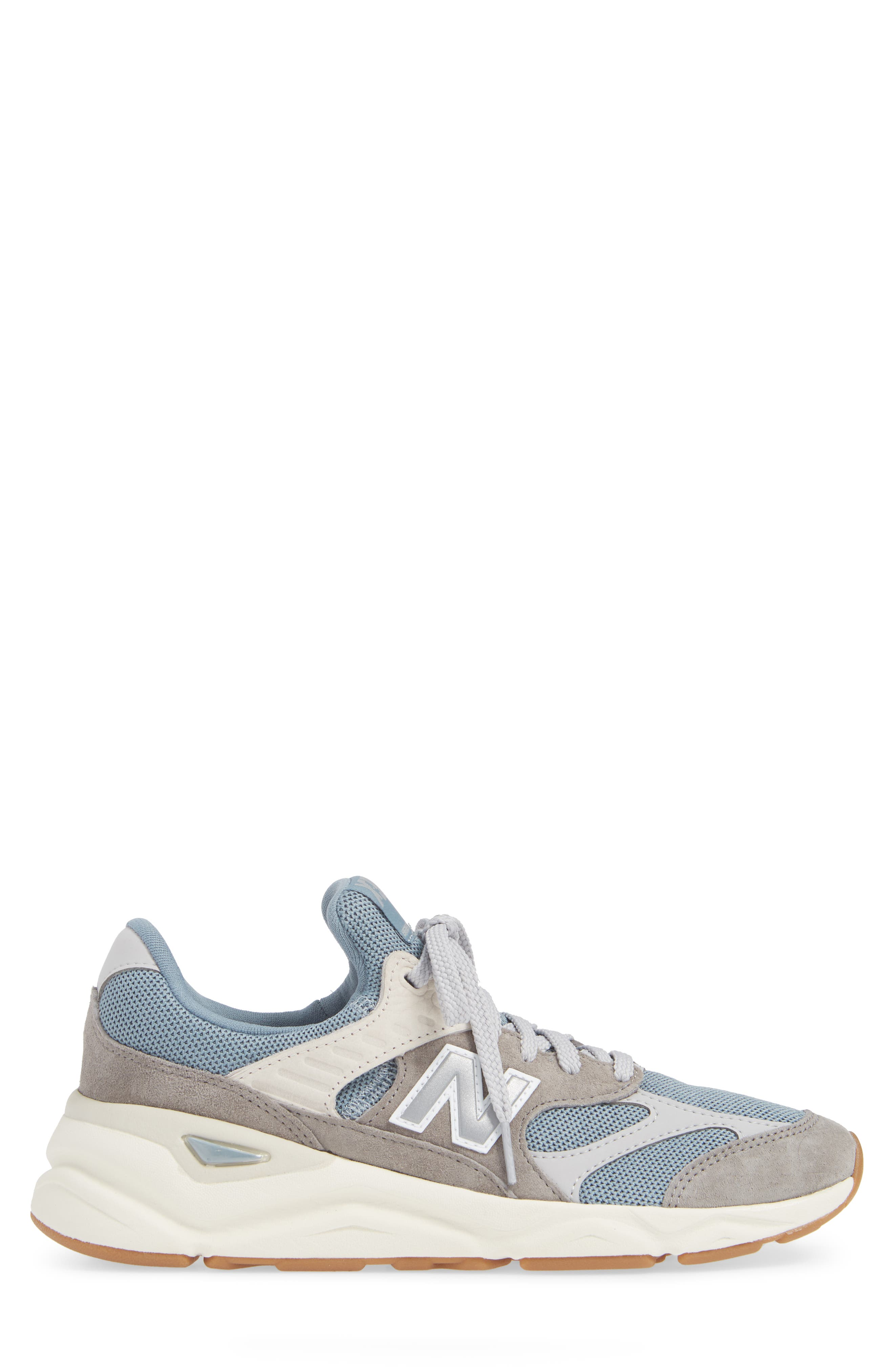 X-90 Sneaker,                             Alternate thumbnail 3, color,                             CYCLONE SUEDE/ TEXTILE