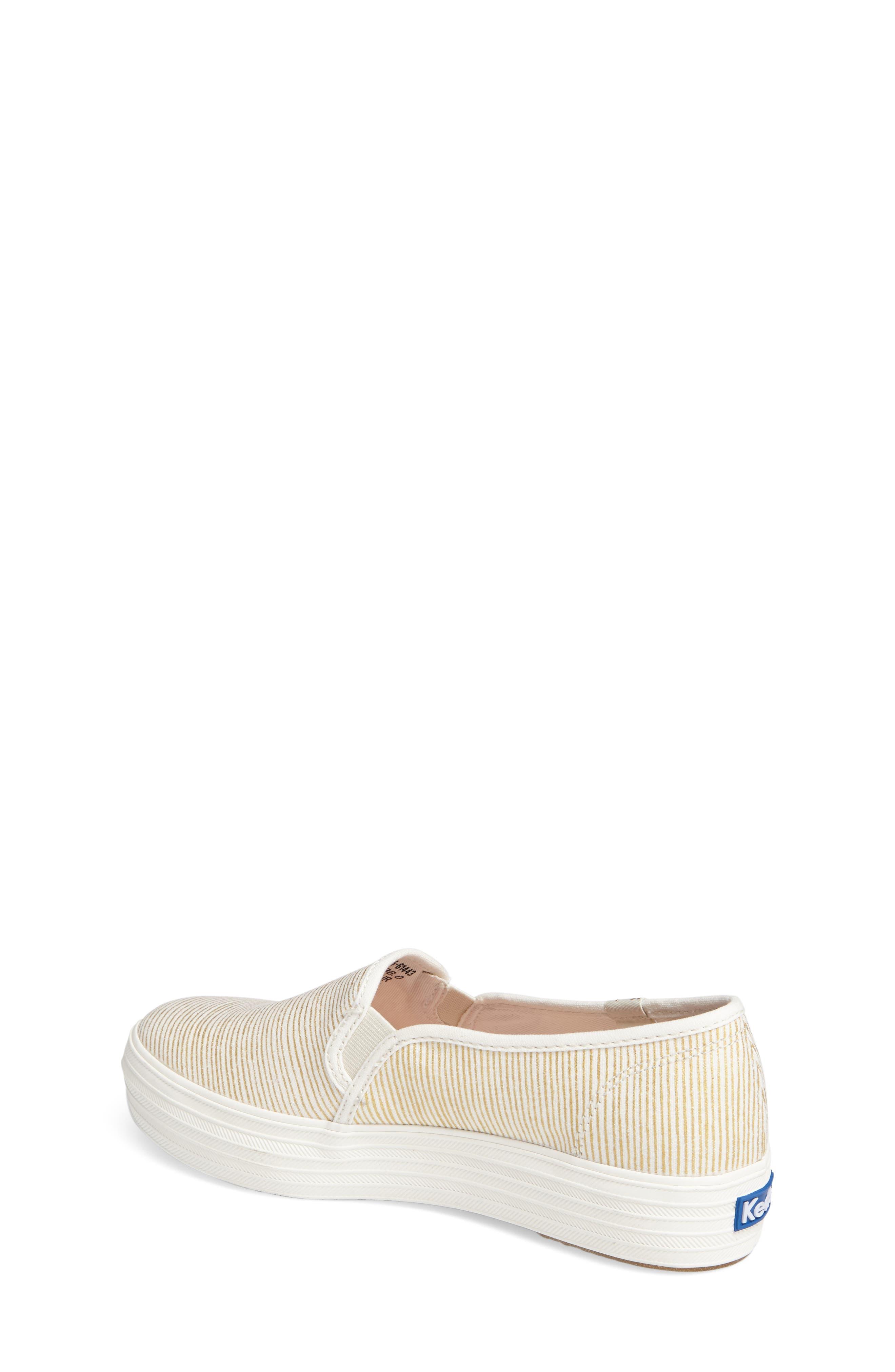 Triple Decker Slip-On Platform Sneaker,                             Alternate thumbnail 15, color,