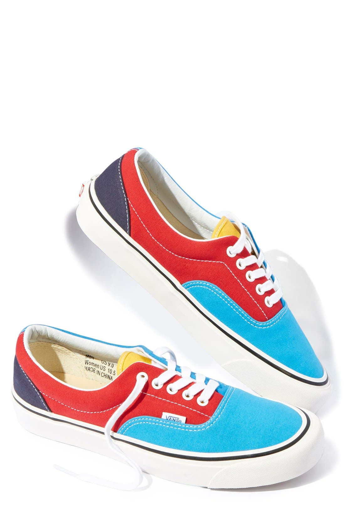 '50th Era 95 Reissue' Low Top Skate Sneaker, Main, color, 001
