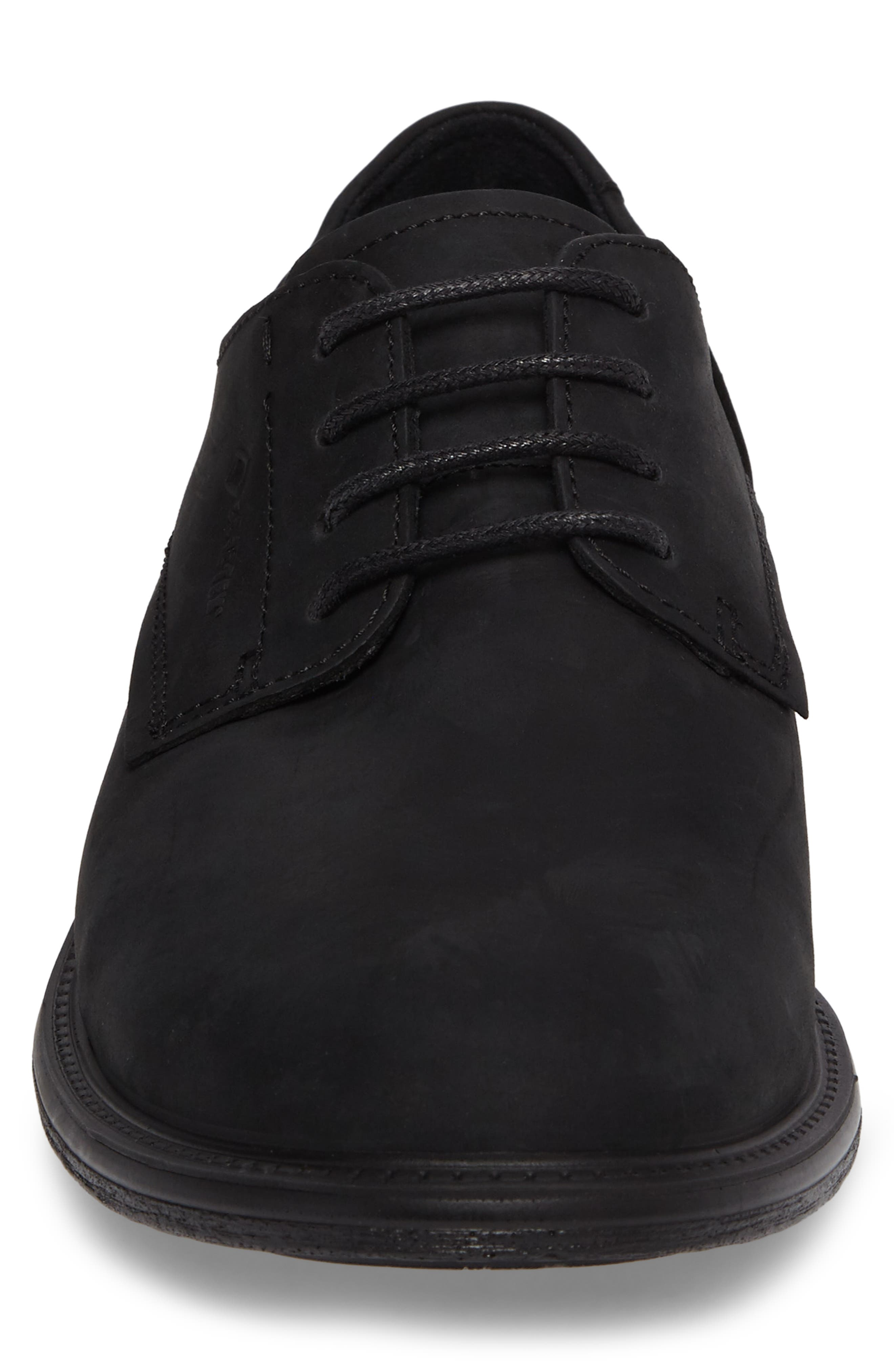 Knoxville Plain Toe Waterproof Gore-Tex<sup>®</sup> Derby,                             Alternate thumbnail 4, color,                             001