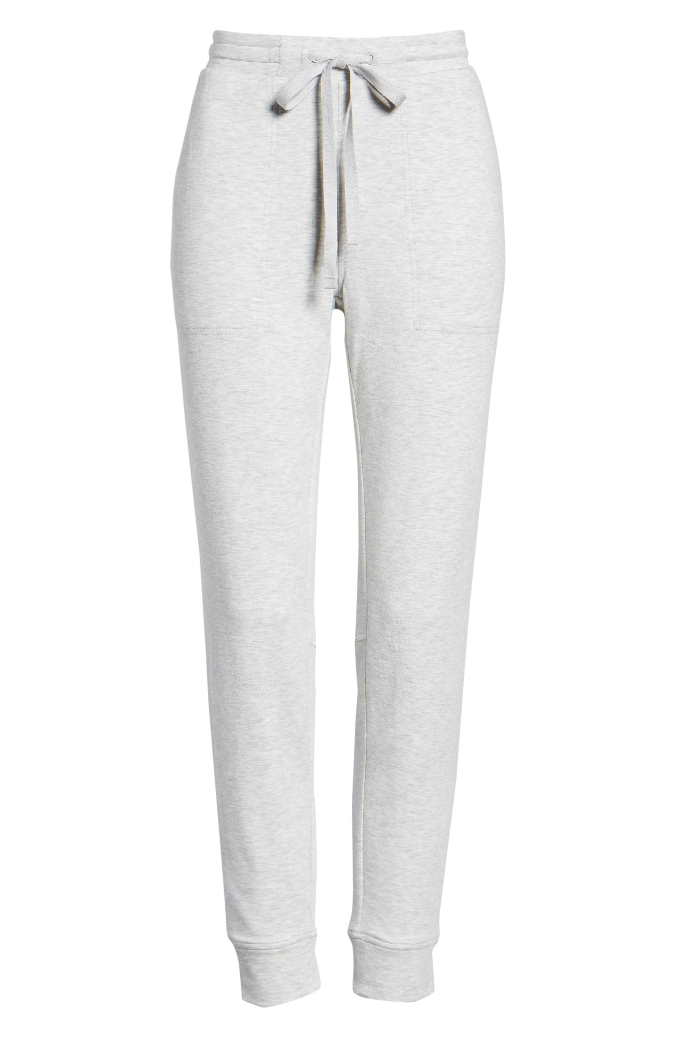 Zen Bounce Upstate Sweatpants,                             Alternate thumbnail 8, color,                             SLEEK HEATHER GREY