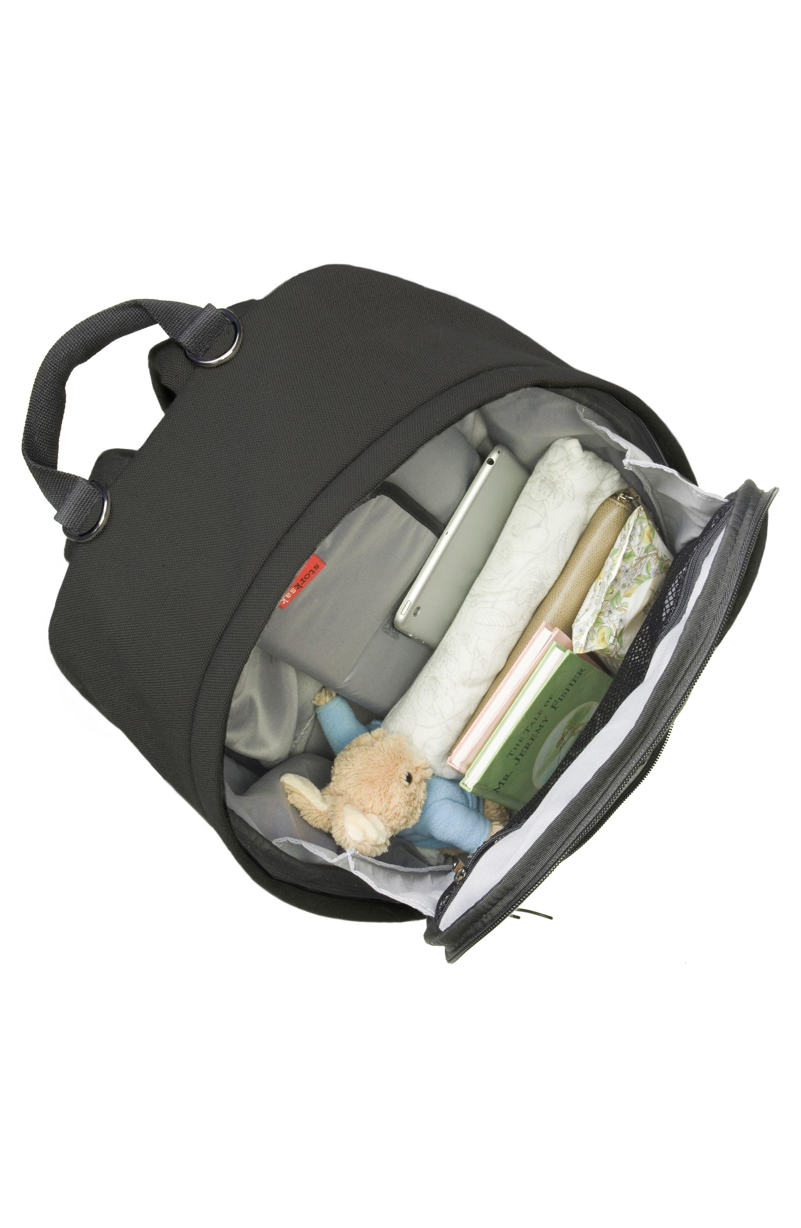 Taylor Diaper Backpack,                             Alternate thumbnail 12, color,                             BLACK