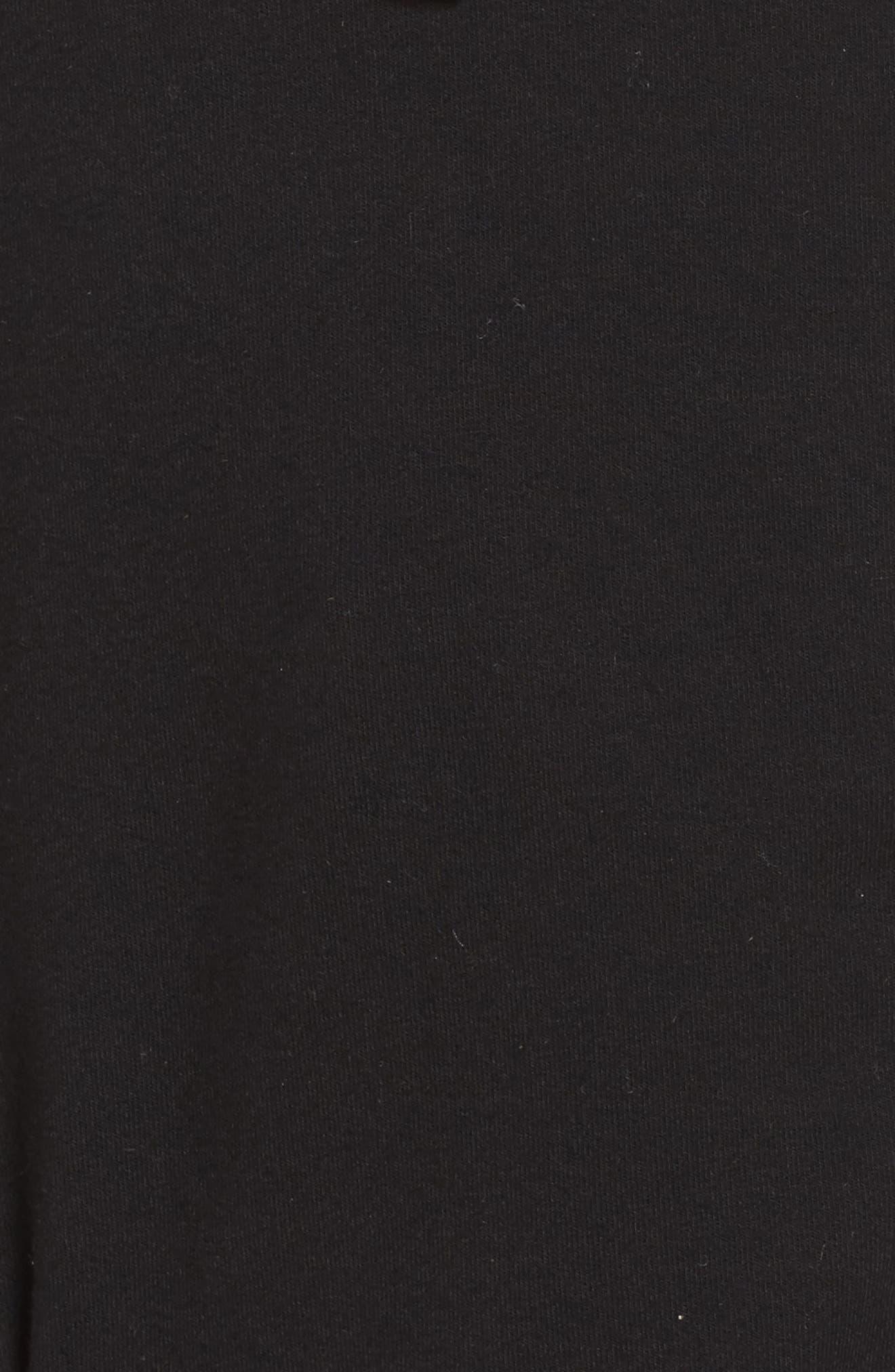 Ryder Fleece Jacket,                             Alternate thumbnail 7, color,                             BLACK