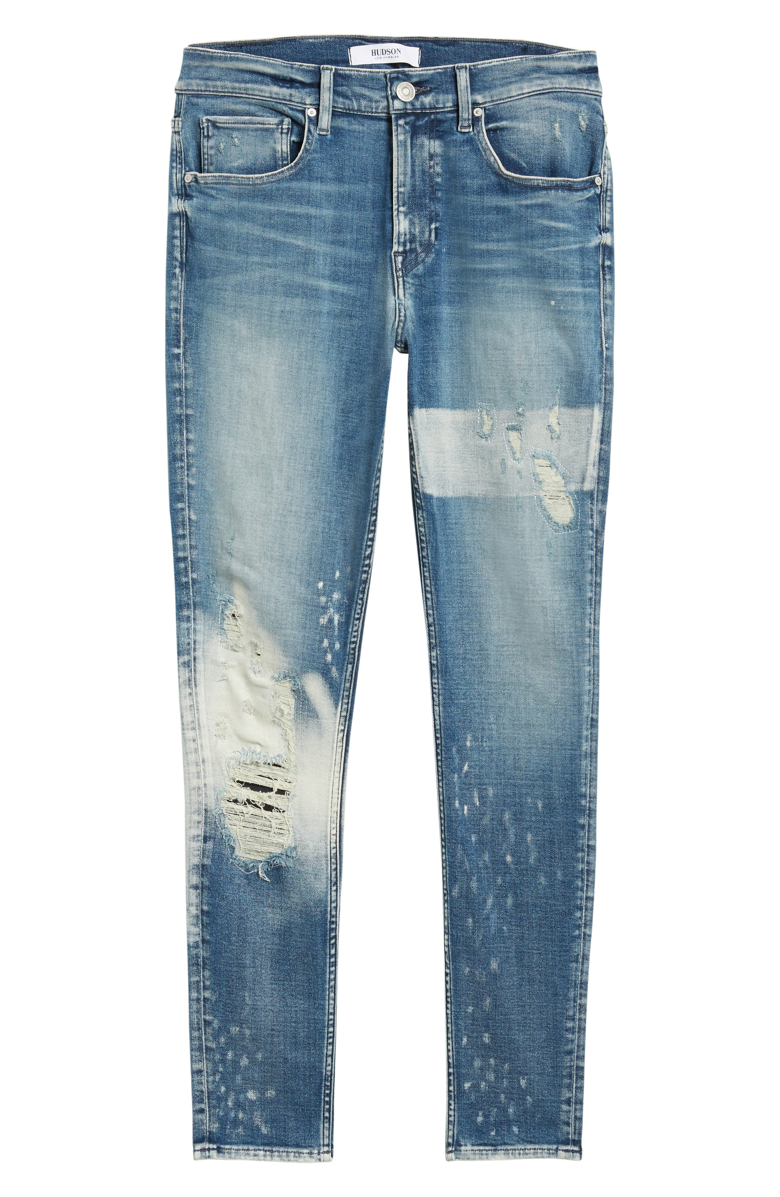 Zack Skinny Fit Jeans,                             Alternate thumbnail 6, color,                             MCNAB