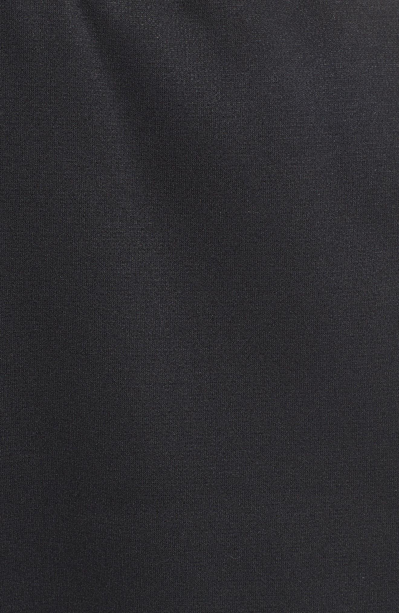 Dri-FIT Therma Training Pants,                             Alternate thumbnail 5, color,                             BLACK/ METALLIC HEMATITE