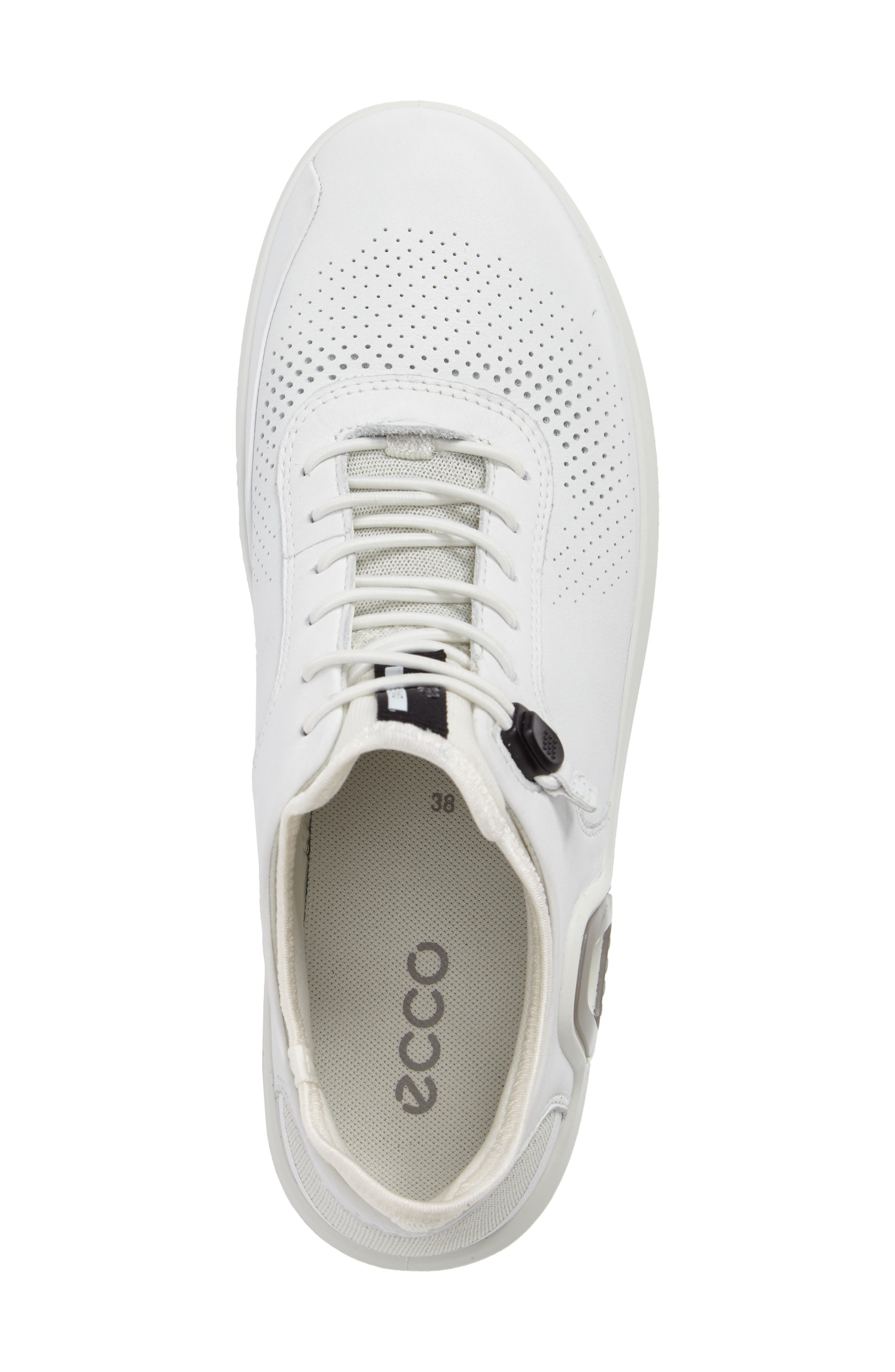 Intrinsic 3 Sneaker,                             Alternate thumbnail 5, color,                             WHITE LEATHER