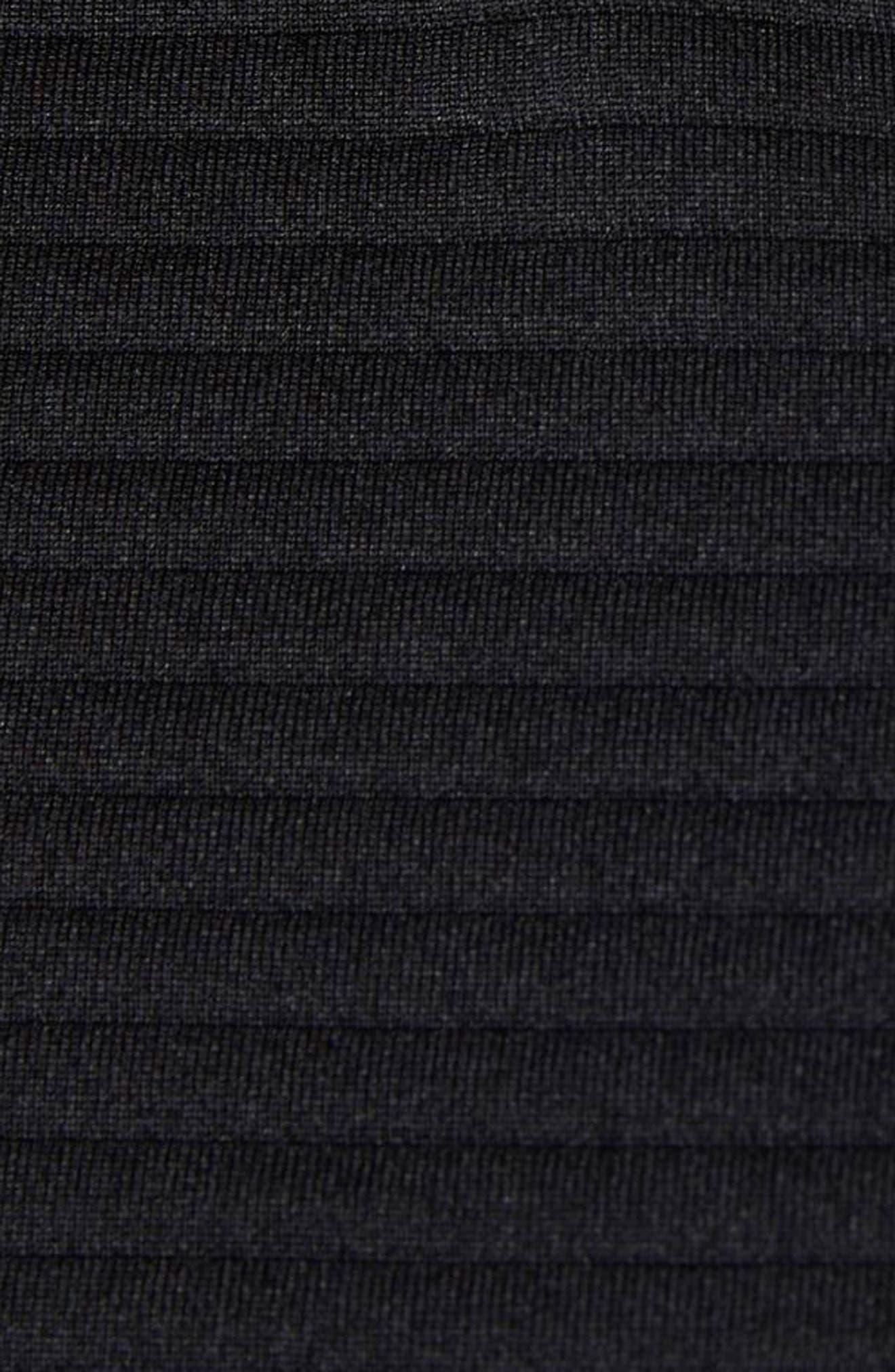 Zip Jacket,                             Alternate thumbnail 6, color,                             BLACK