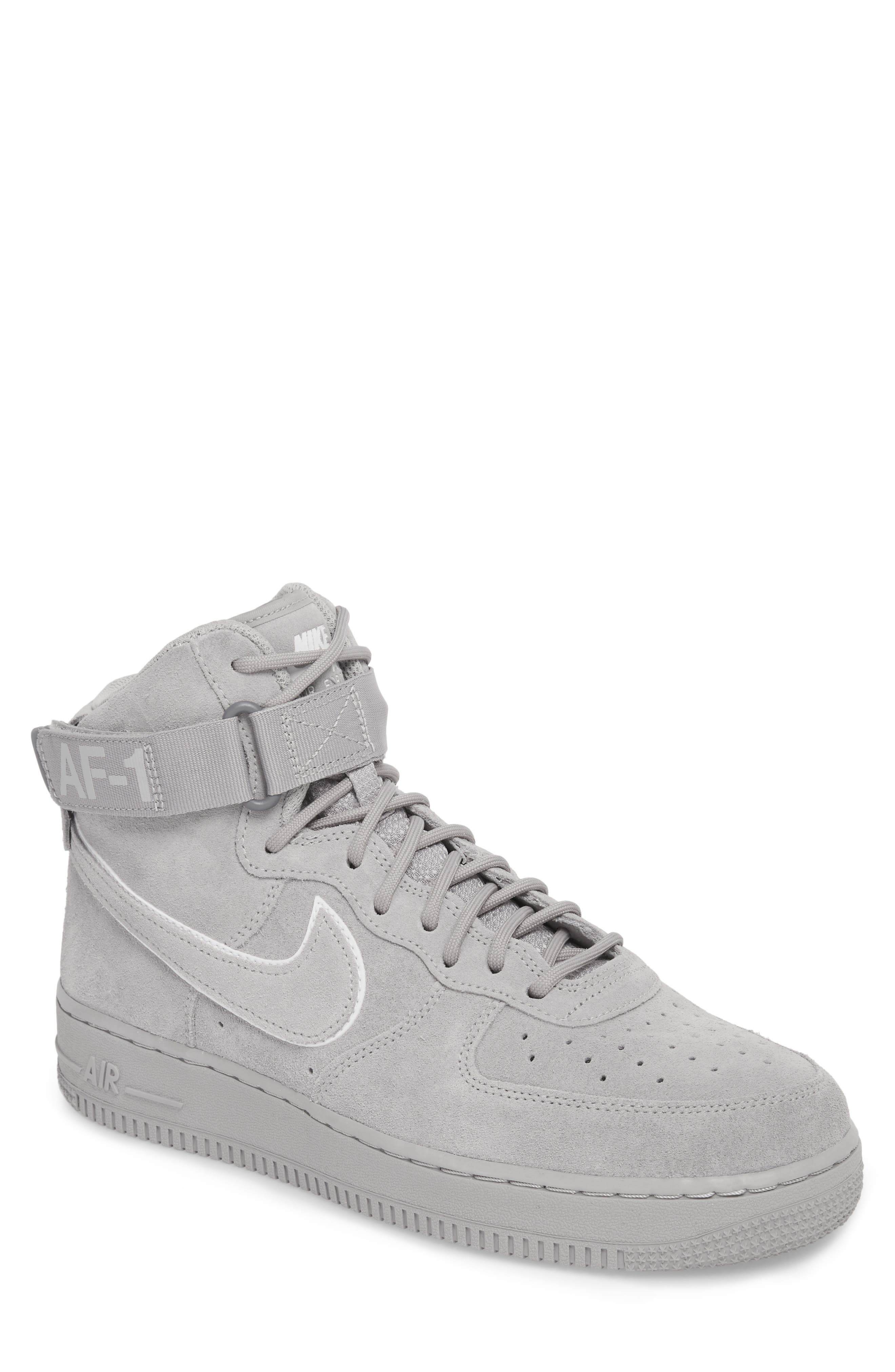 Air Force 1 High '07 LV8 Suede Sneaker,                             Main thumbnail 1, color,                             023