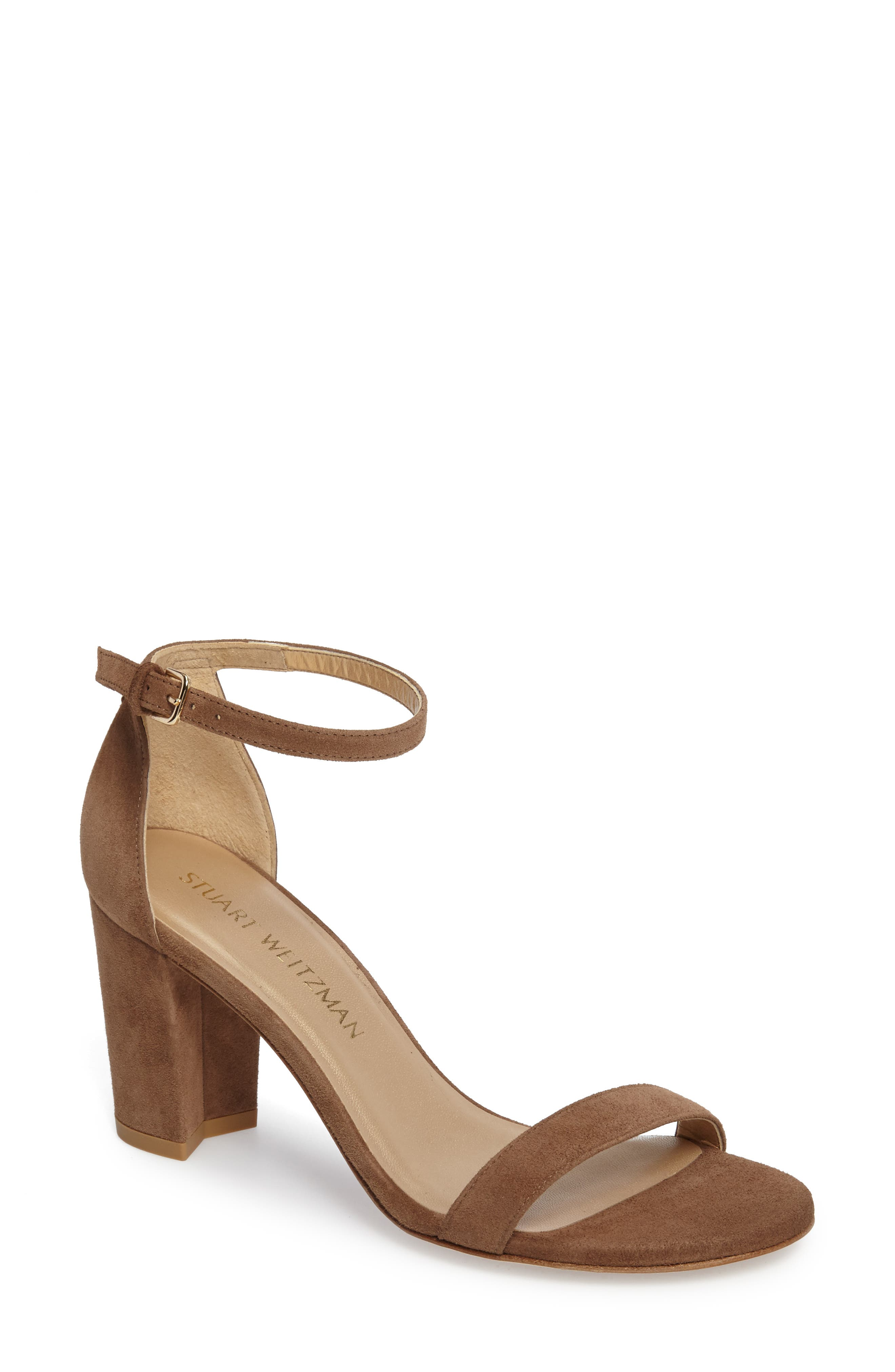NearlyNude Ankle Strap Sandal,                             Main thumbnail 16, color,