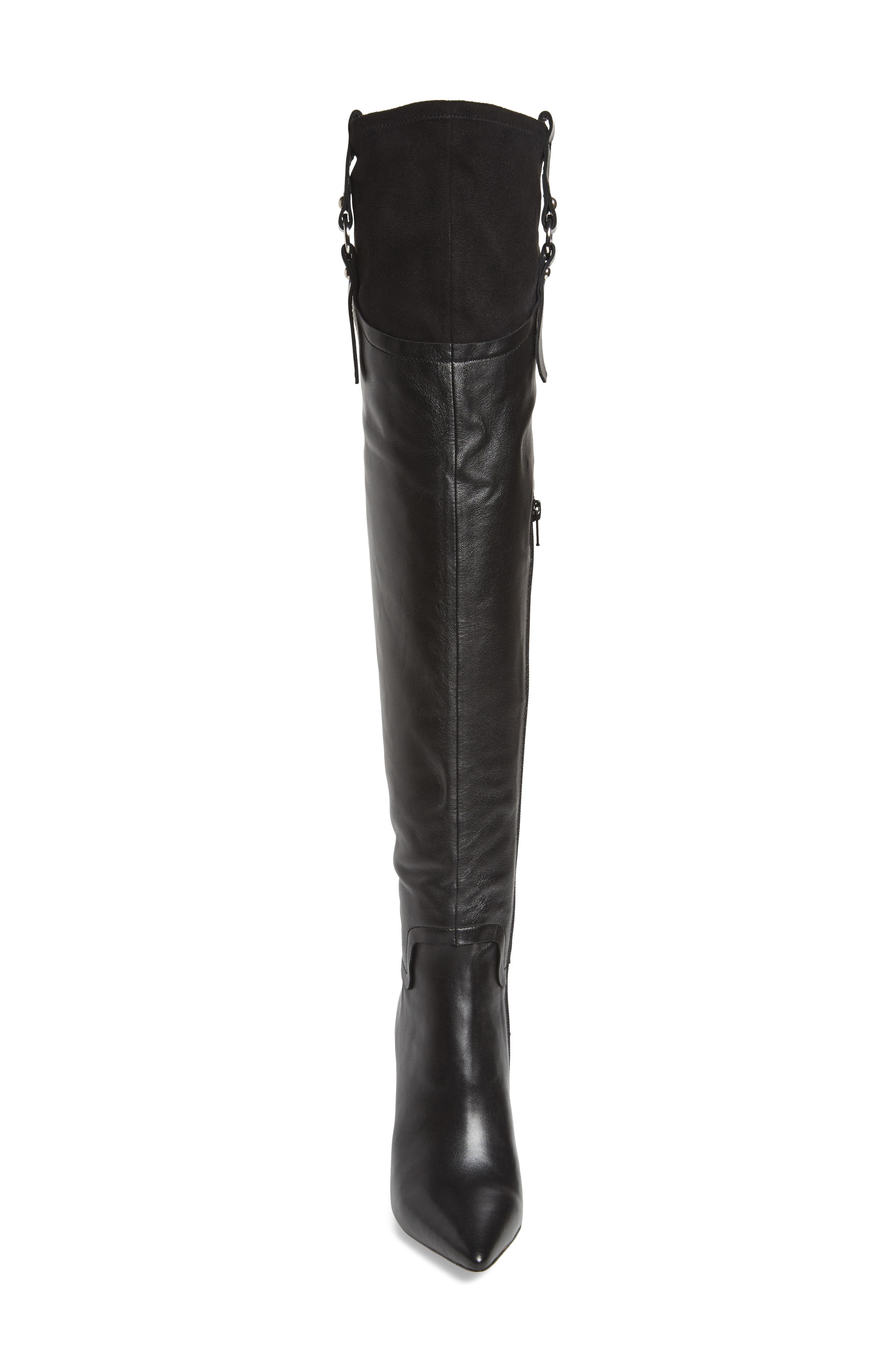 Baily Over the Knee Boot,                             Alternate thumbnail 4, color,                             005
