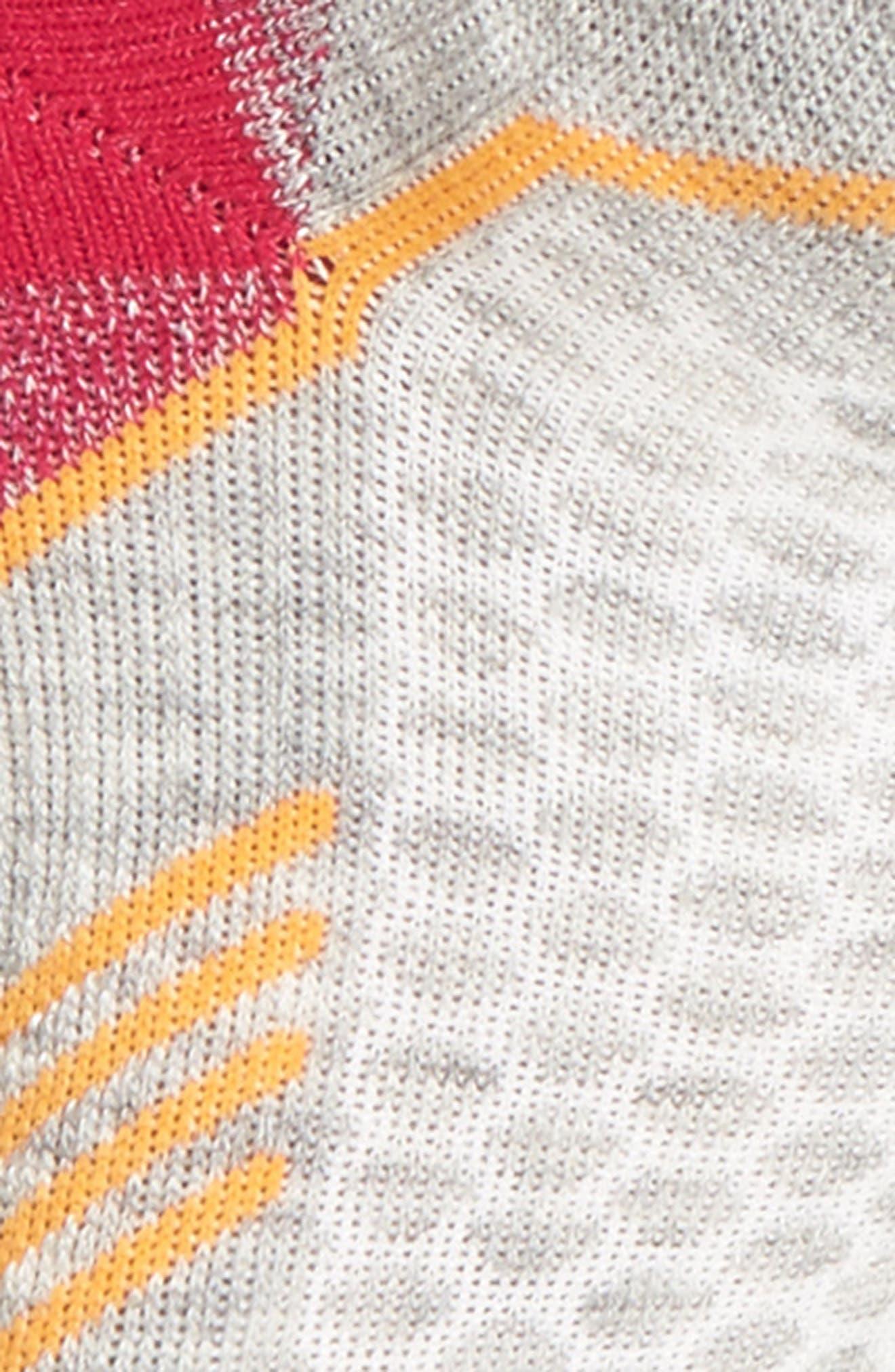 Incline Micro Compression Socks,                             Alternate thumbnail 2, color,                             LIGHT GREY