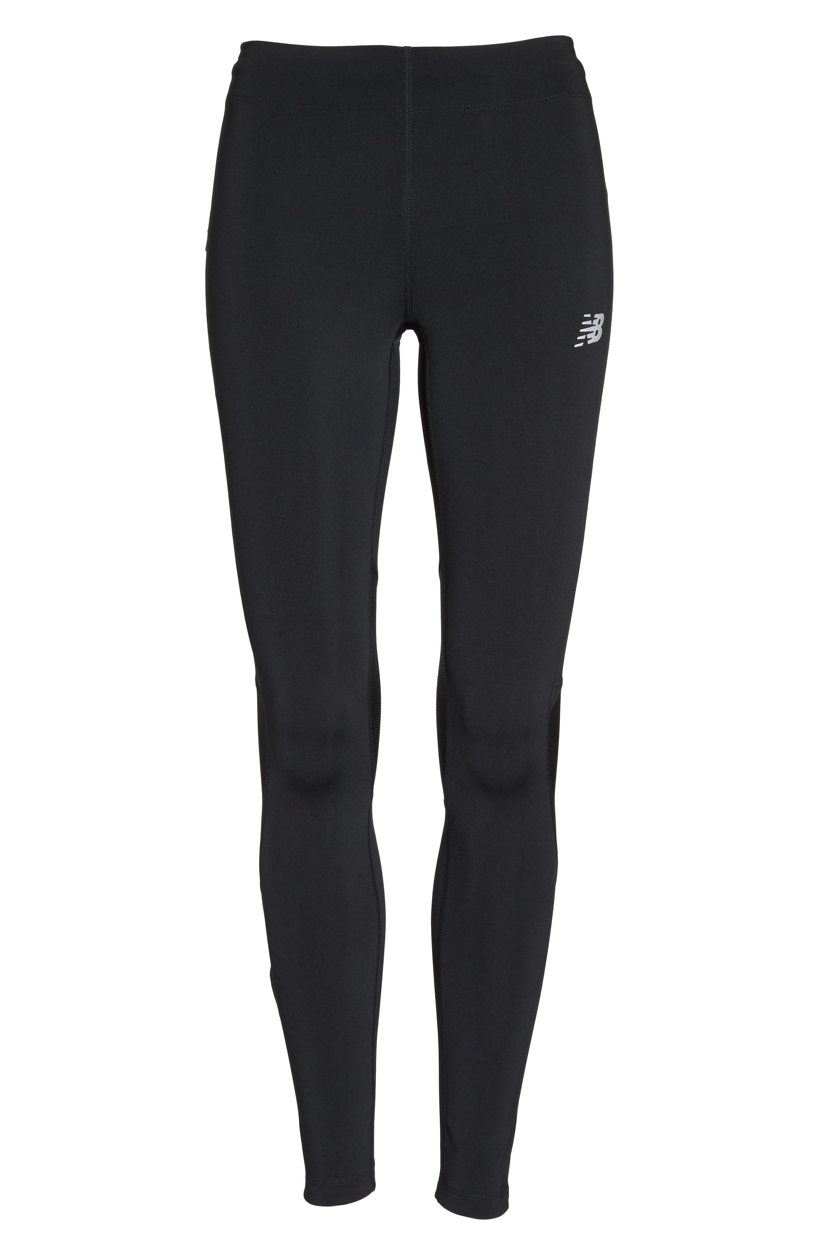Impact Premium Running Tights,                             Alternate thumbnail 7, color,                             001