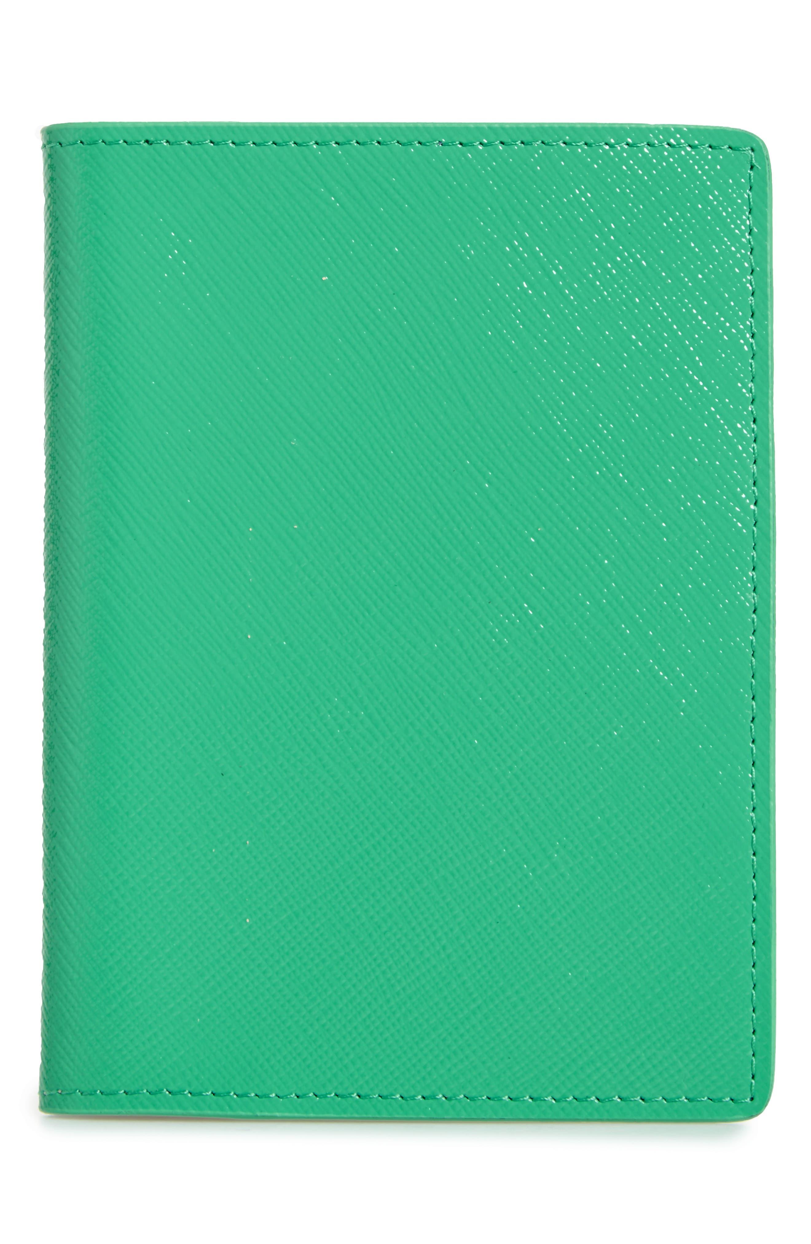 Leather Passport Case,                             Main thumbnail 3, color,