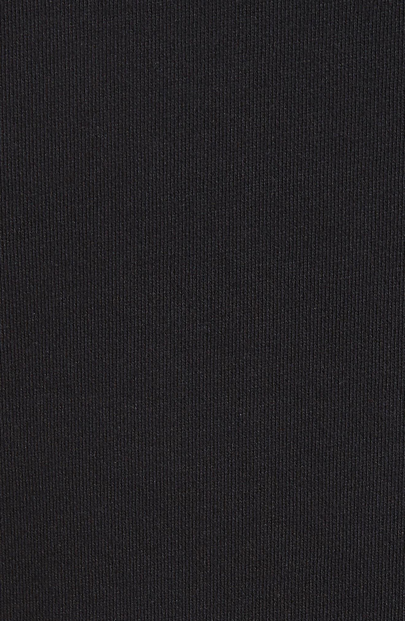 patch sweatshirt,                             Alternate thumbnail 5, color,                             001