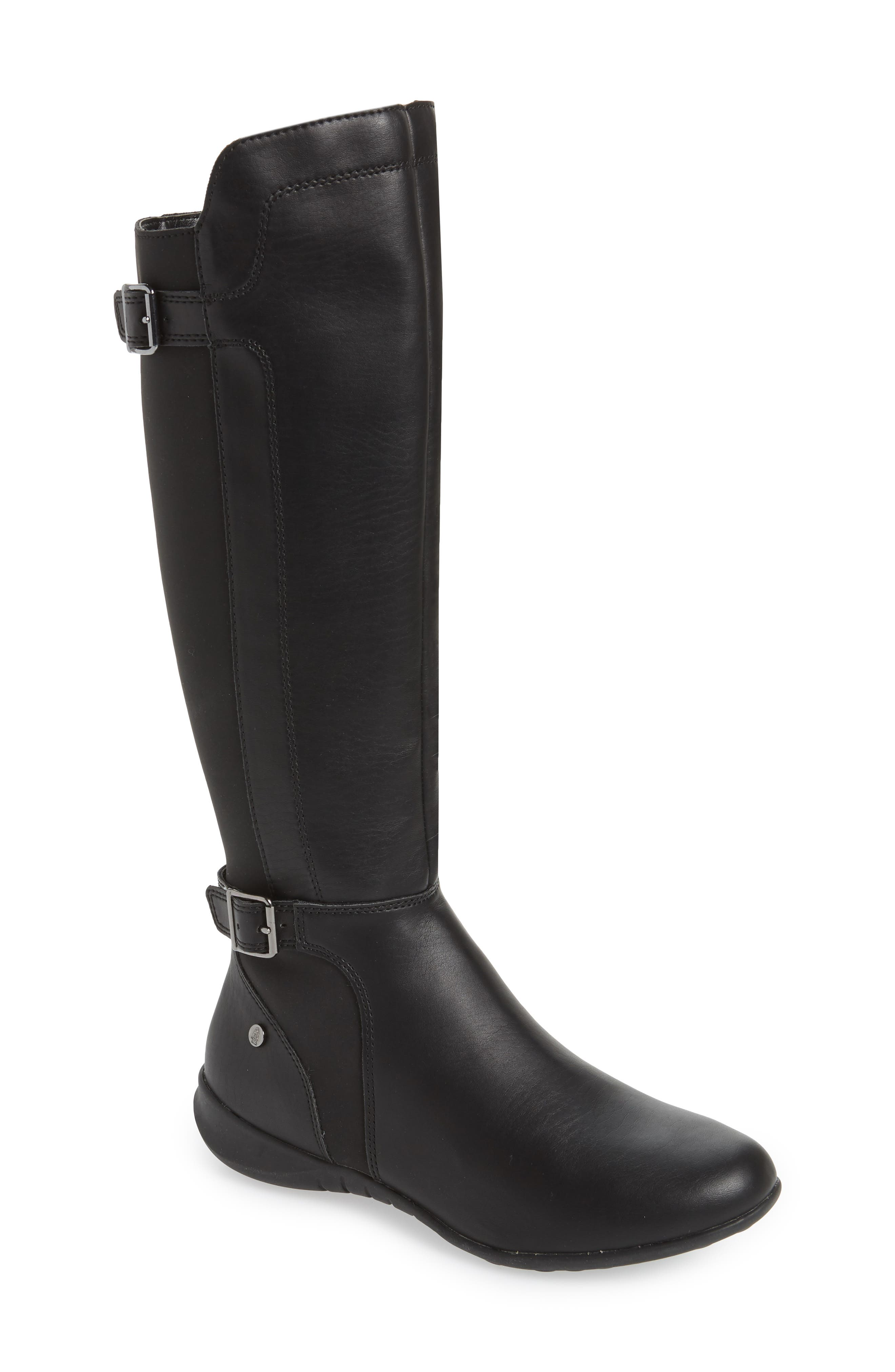 Hush Puppies Bria Knee High Boot, Black