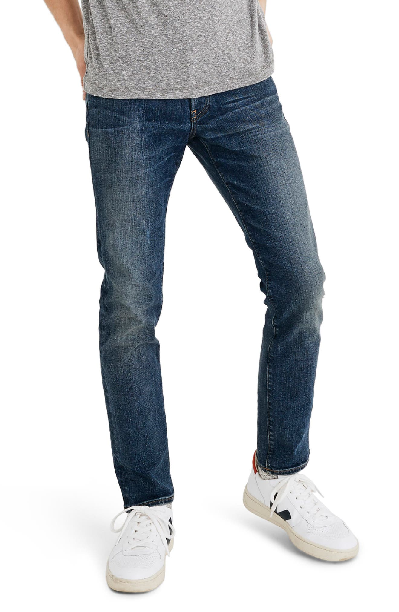 Slim Fit Jeans,                         Main,                         color, OSGOODE WASH