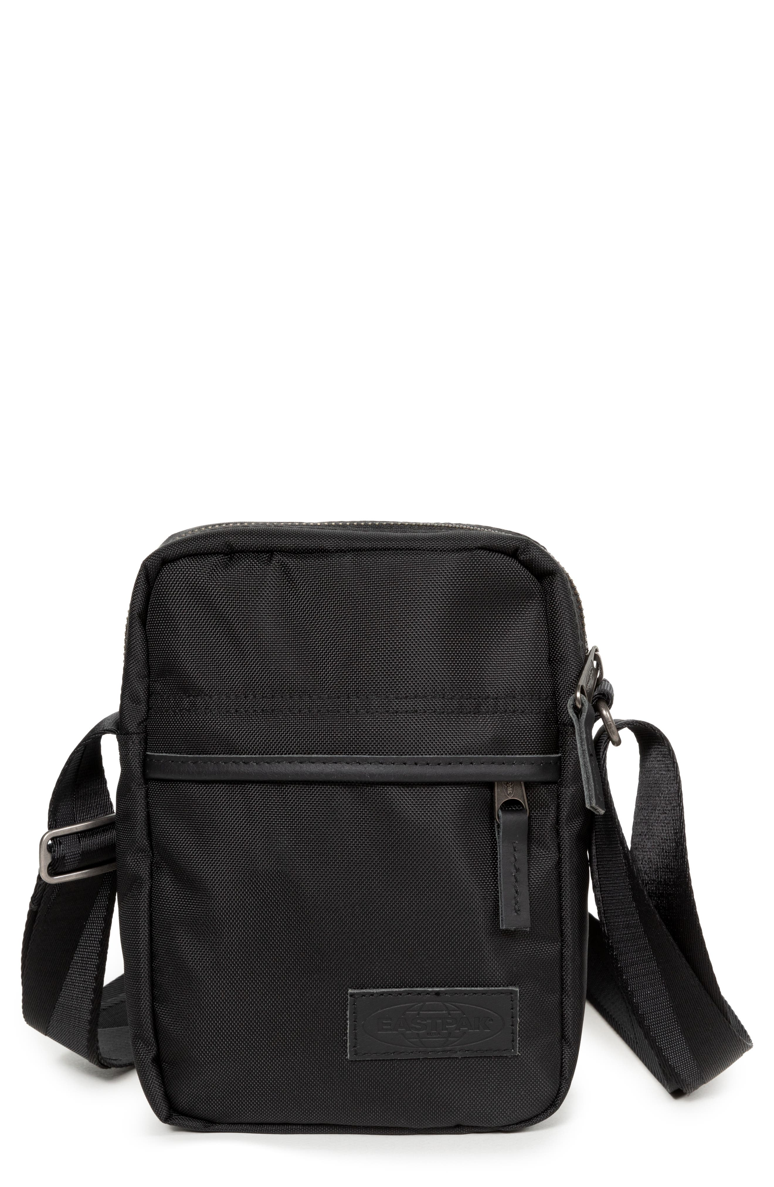 EASTPAK,                             The One Constructed Nylon Crossbody Bag,                             Main thumbnail 1, color,                             001