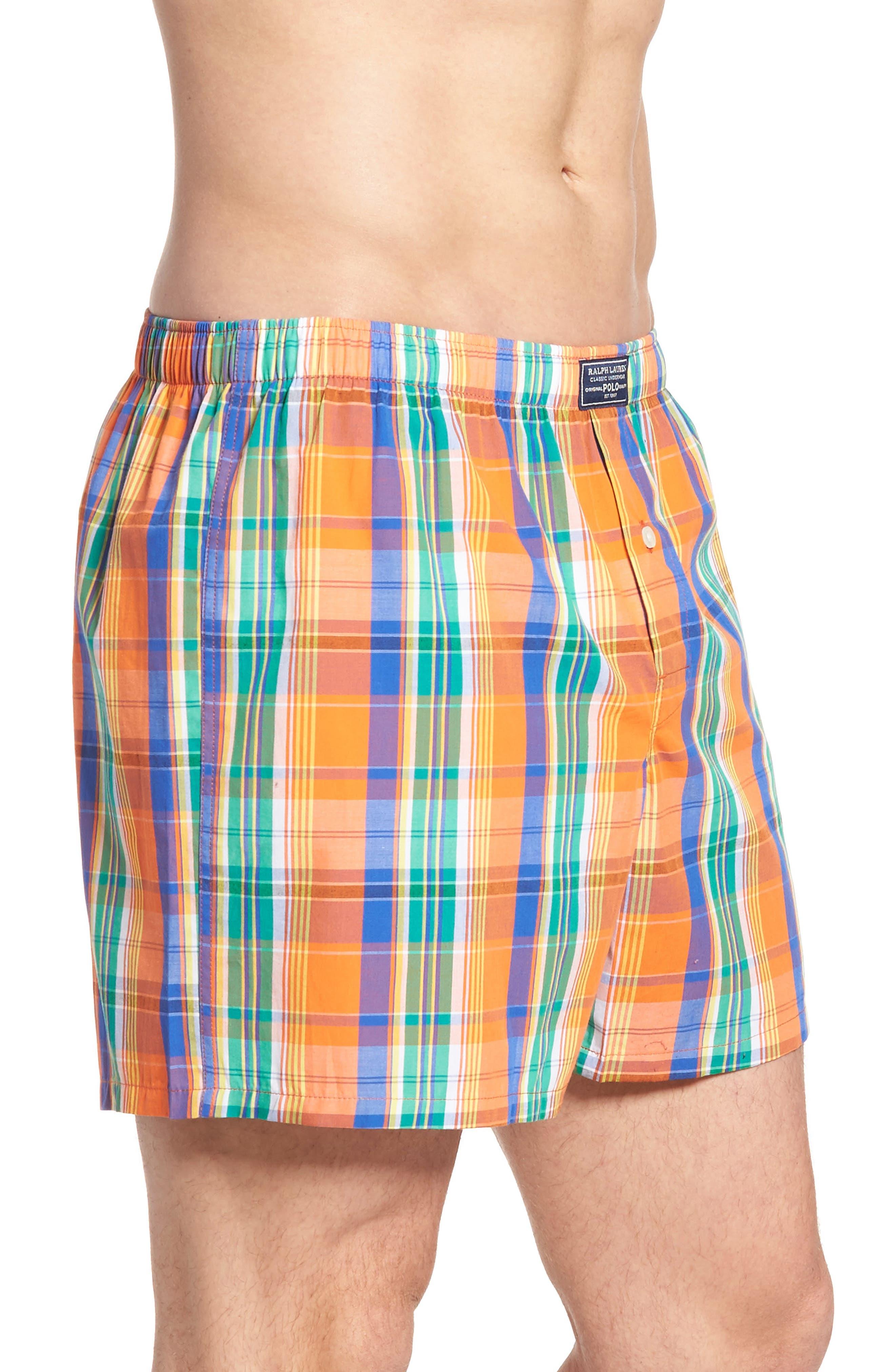 Stripe Cotton Boxers,                             Alternate thumbnail 12, color,