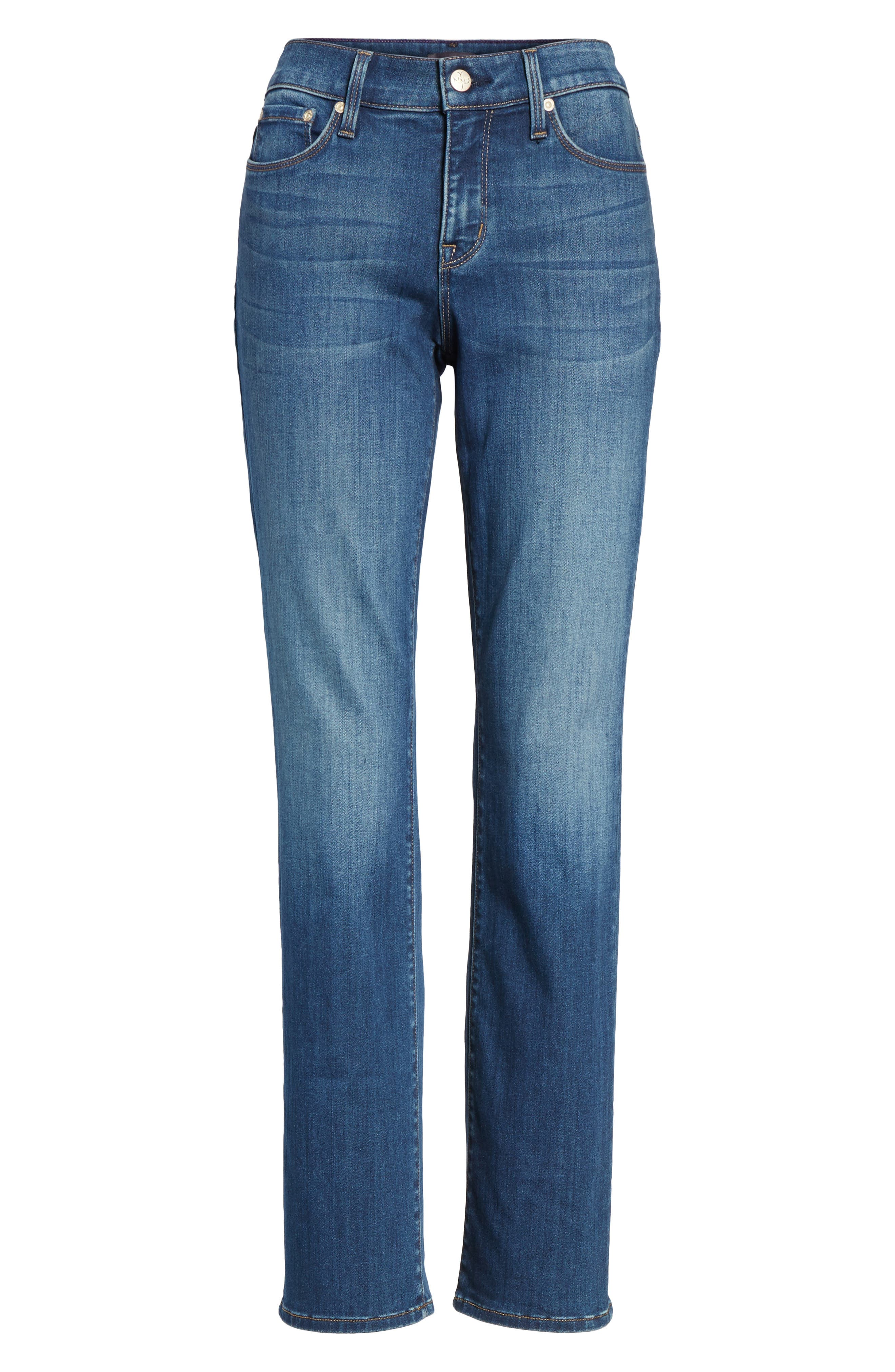 Marilyn Stretch Straight Leg Jeans,                             Alternate thumbnail 6, color,