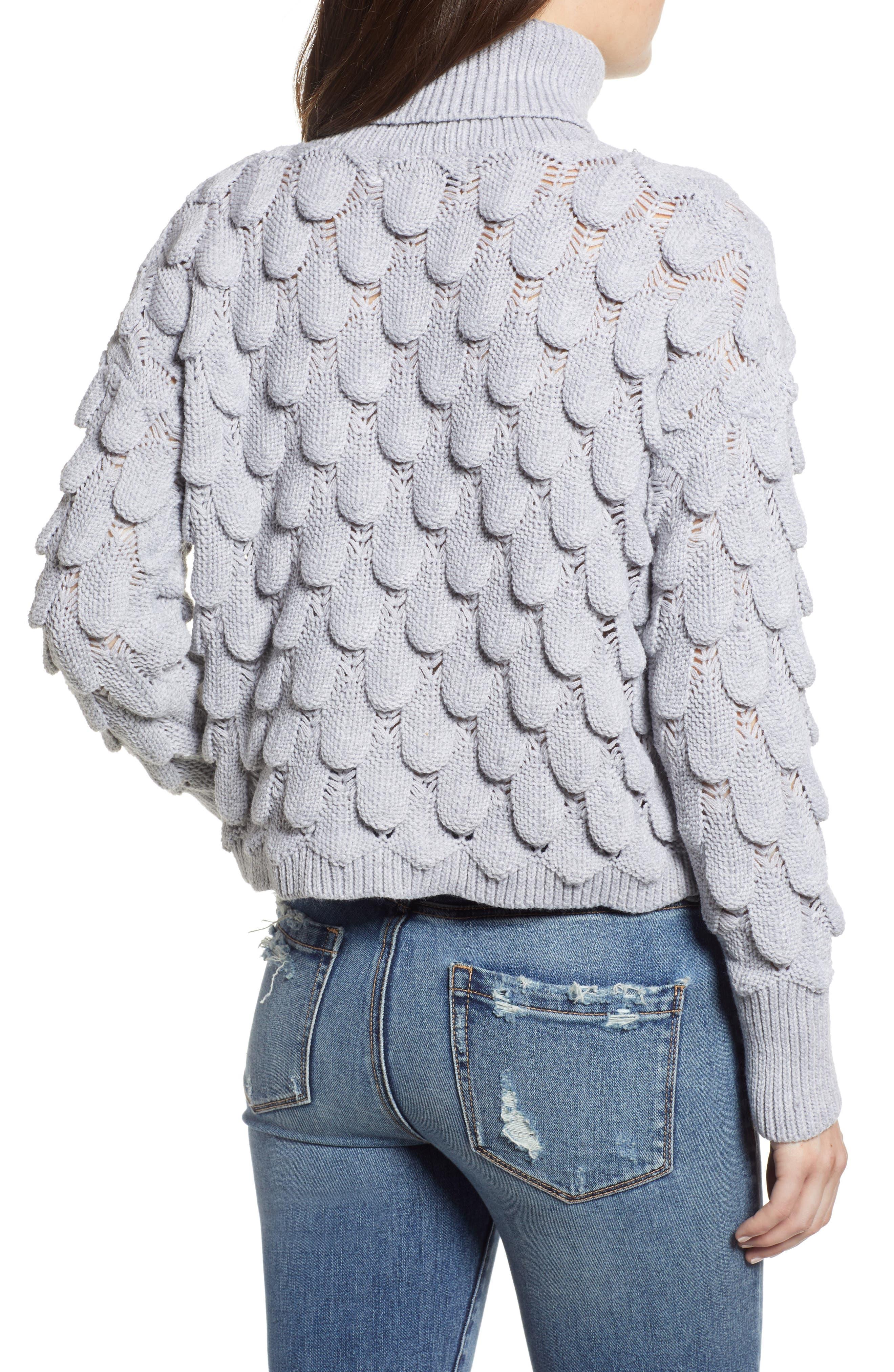 Scallop Stitch Sweater,                             Alternate thumbnail 2, color,                             038