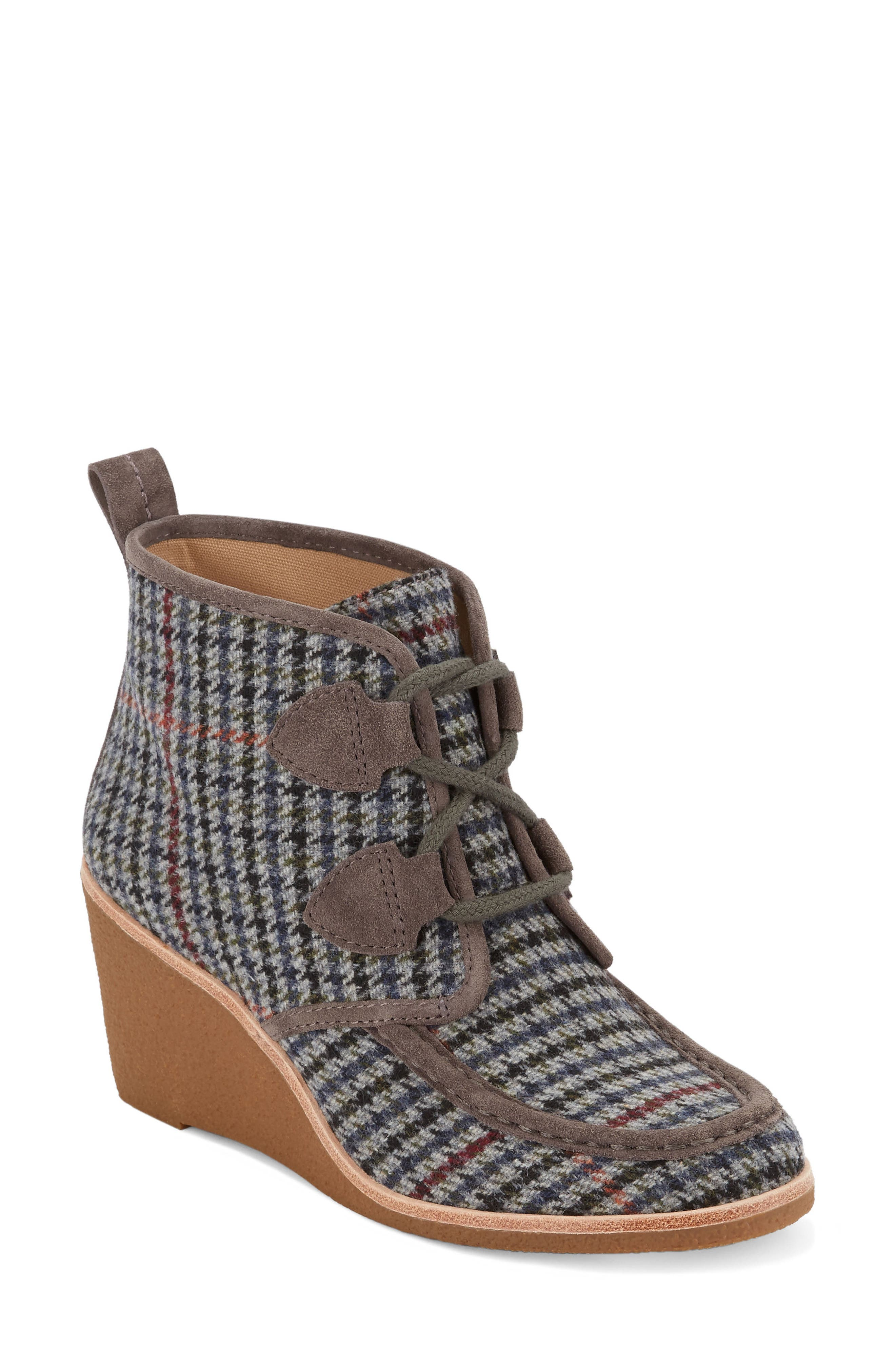 Rosa Wedge Bootie,                             Main thumbnail 3, color,