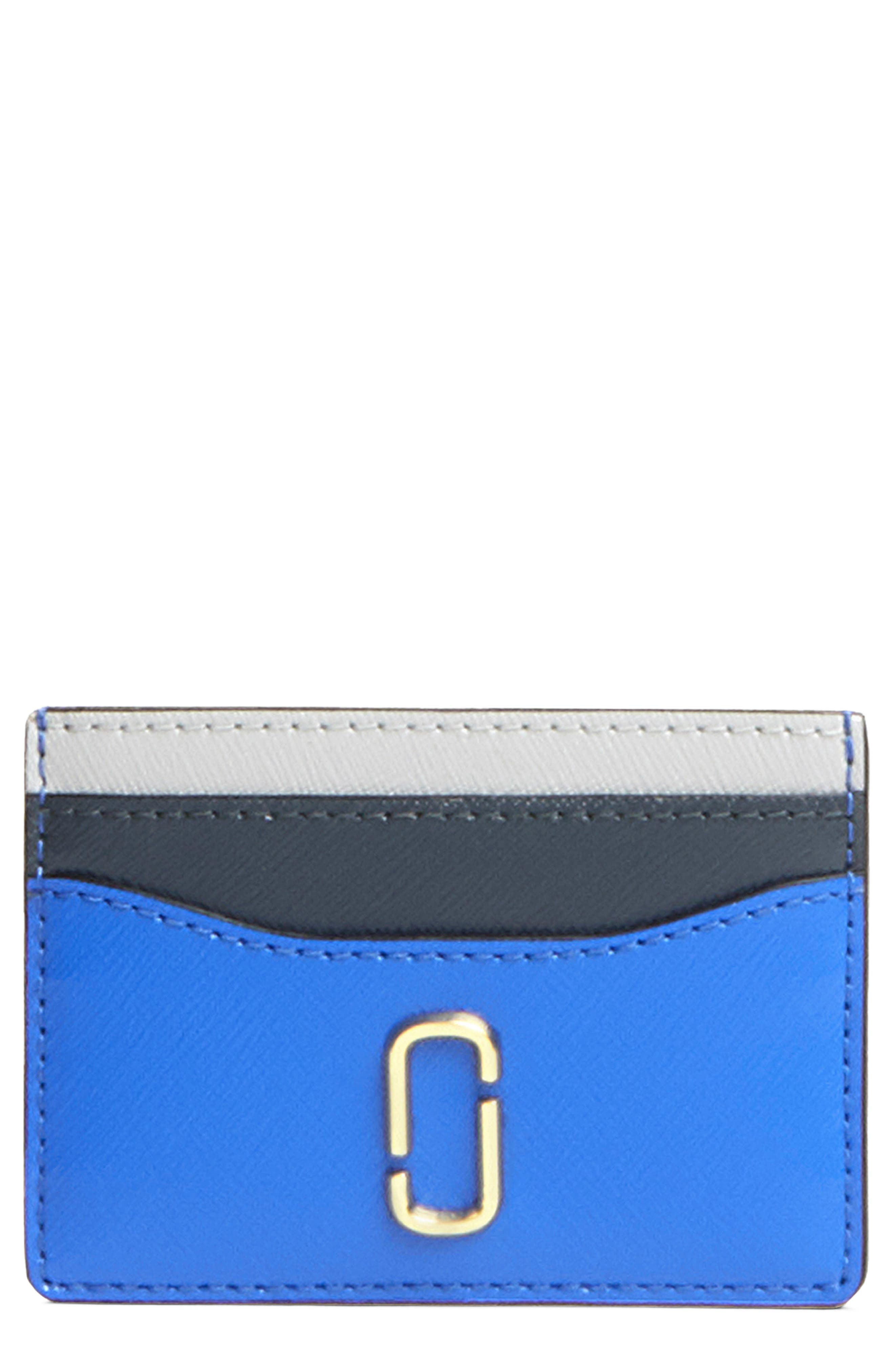 Snapshot Leather Card Case,                         Main,                         color, 400