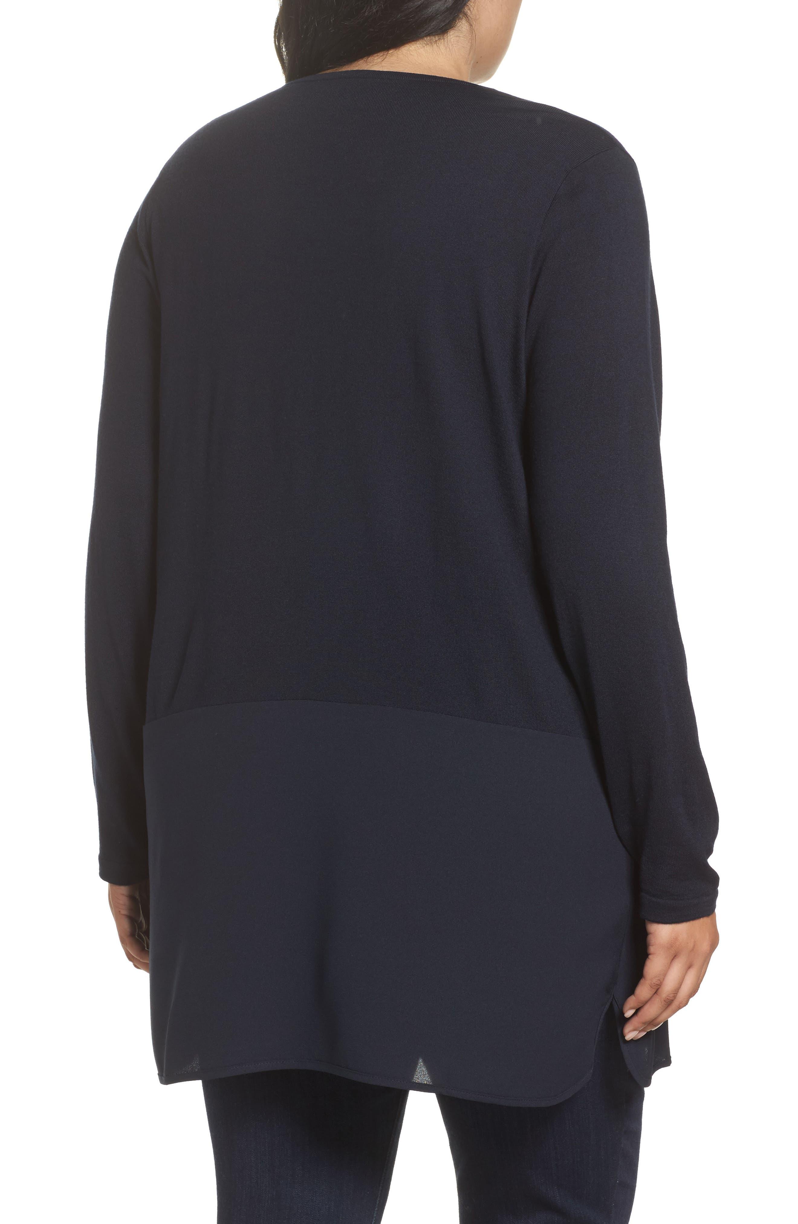 Adamo MIxed Media Sweater,                             Alternate thumbnail 2, color,                             411