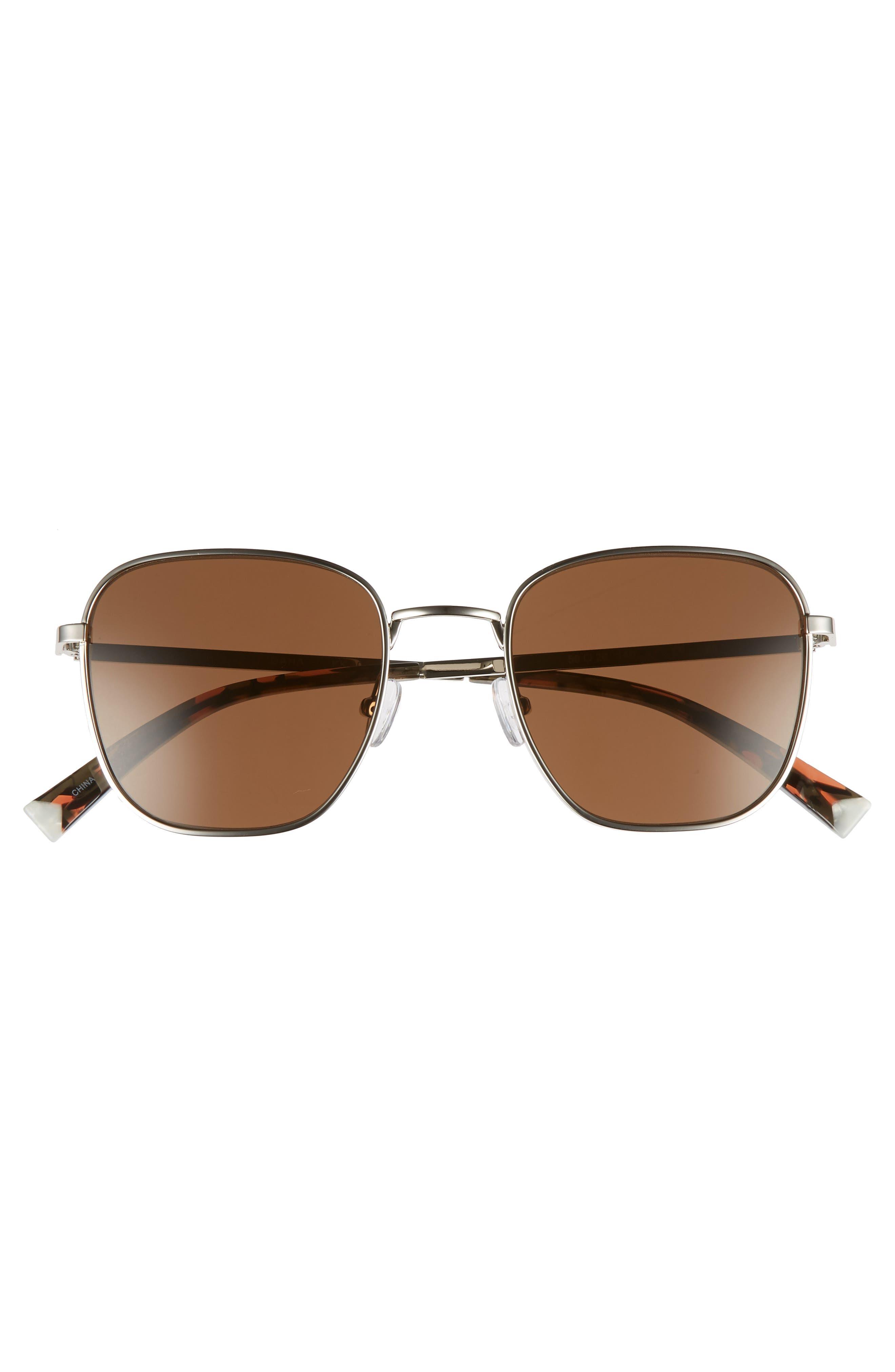 Dana 50mm Square Sunglasses,                             Alternate thumbnail 3, color,                             045