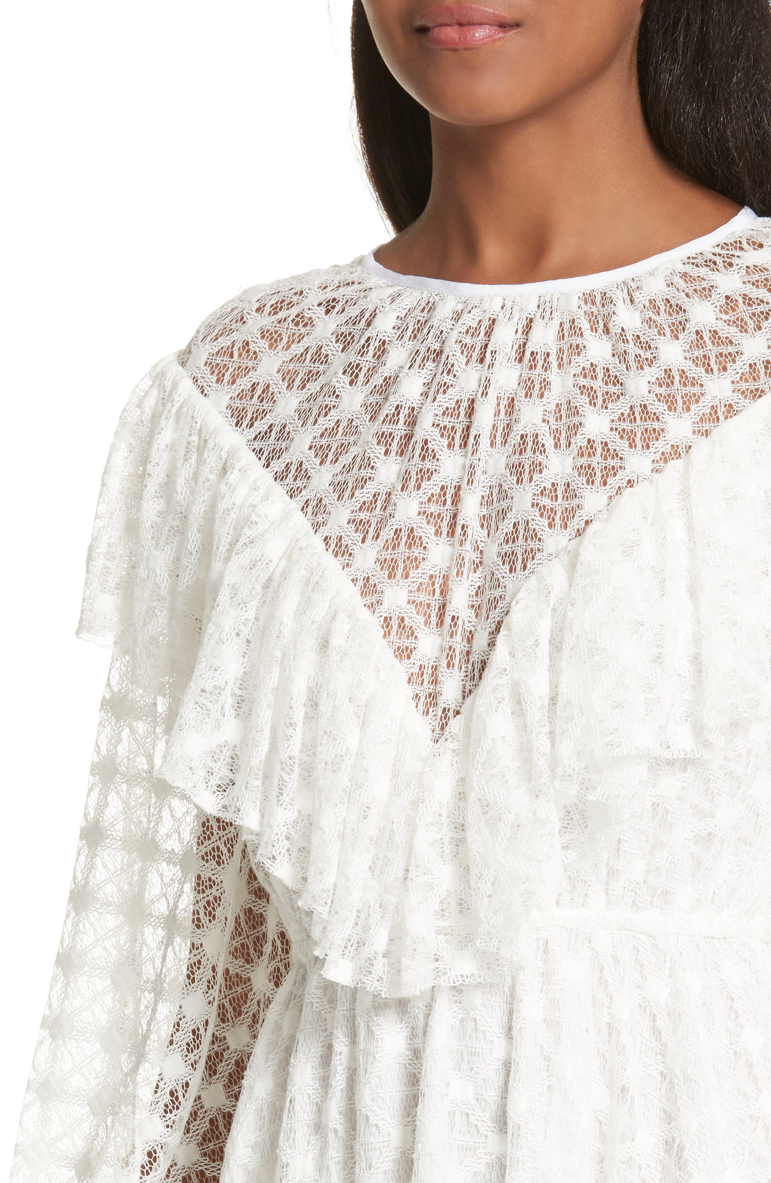 Lace Victorian Dress,                             Alternate thumbnail 4, color,                             900
