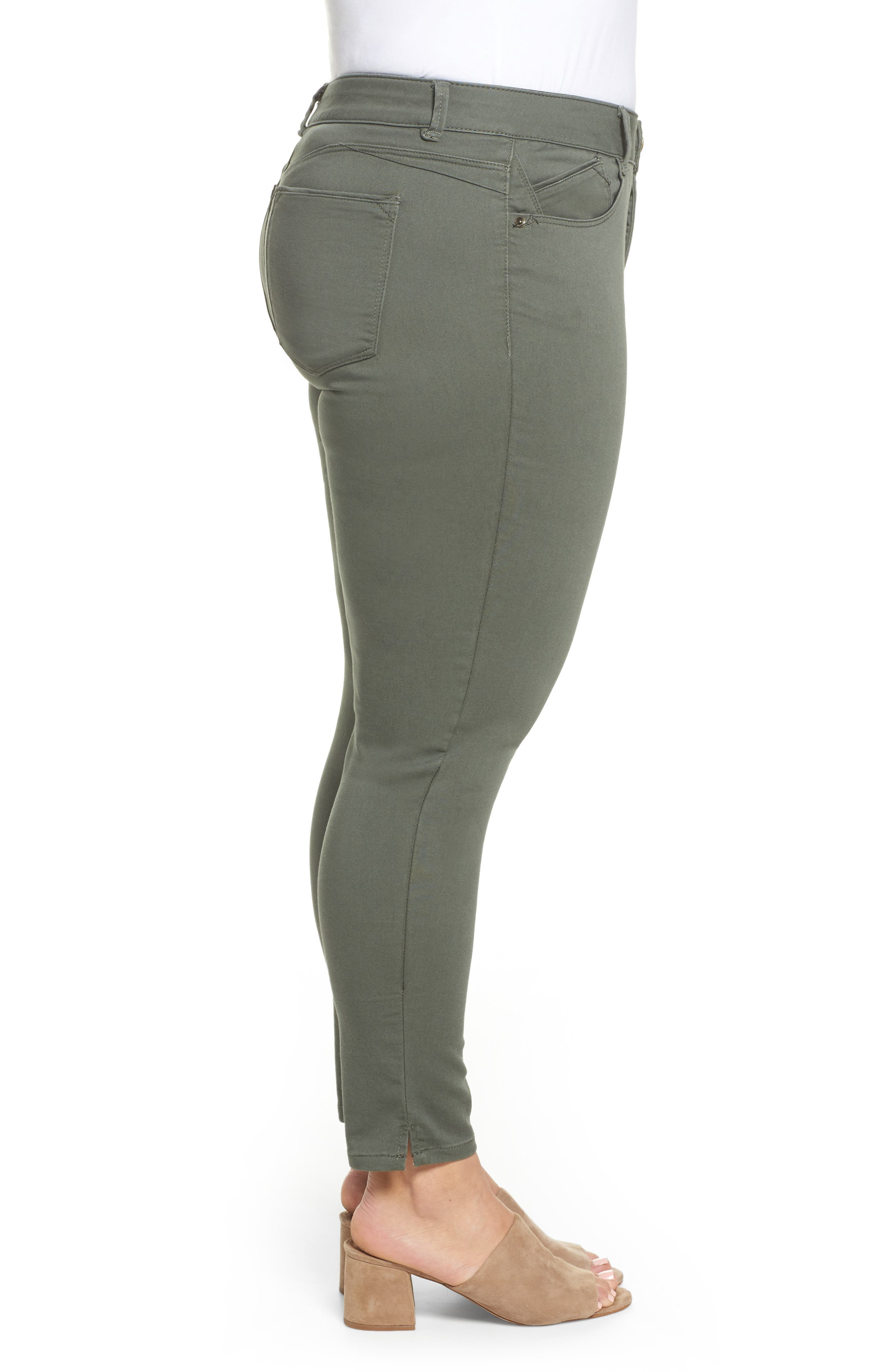 Ab-solution Ankle Pants,                             Alternate thumbnail 3, color,                             THYME