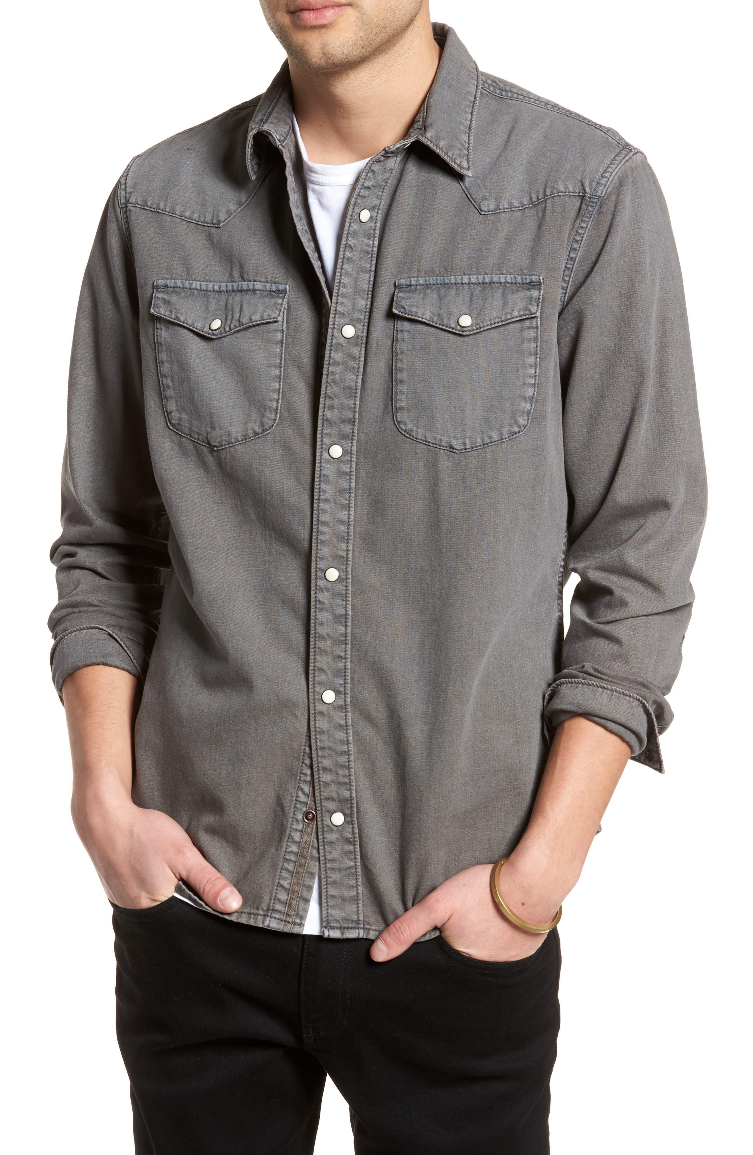 Core Western Shirt,                         Main,                         color, 050