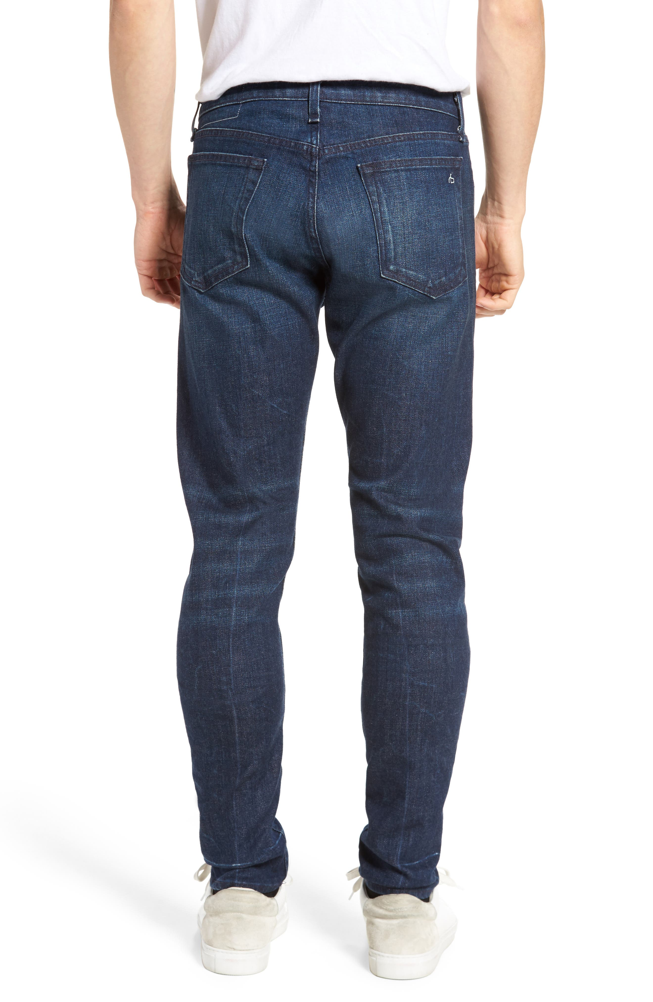 Fit 1 Skinny Fit Jeans,                             Alternate thumbnail 2, color,                             402