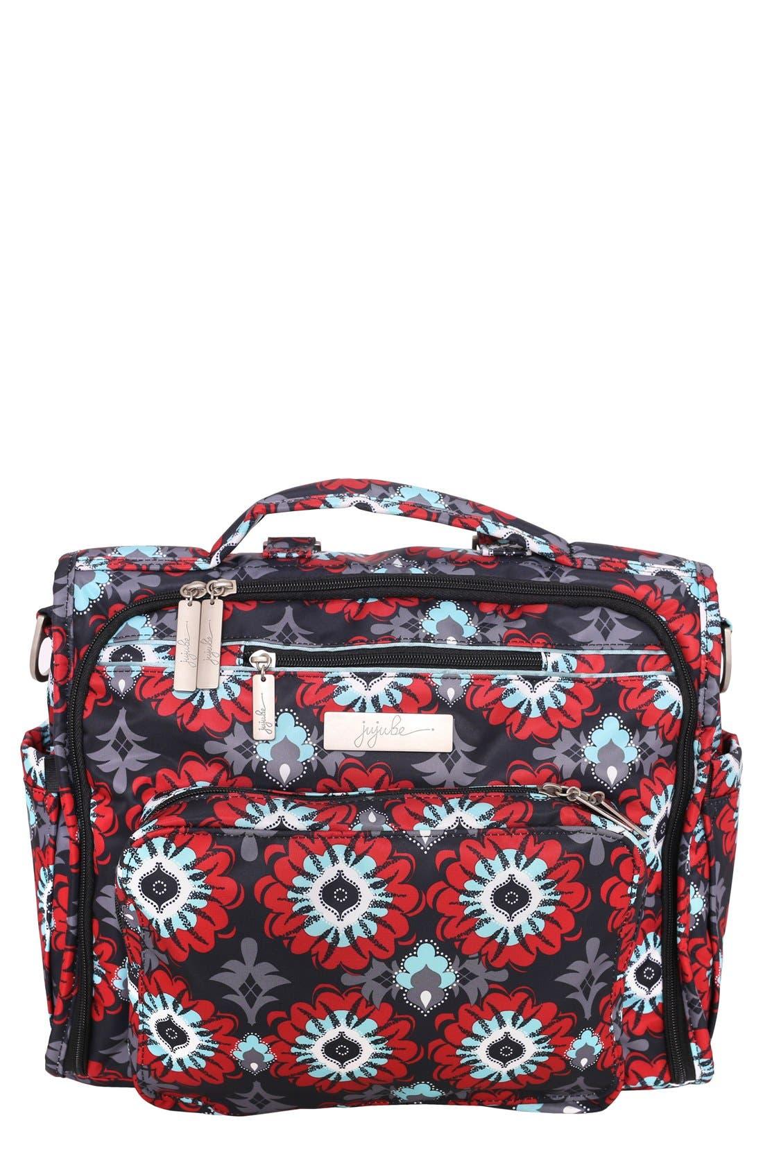 'BFF' Diaper Bag,                         Main,                         color, SWEET SCARLET