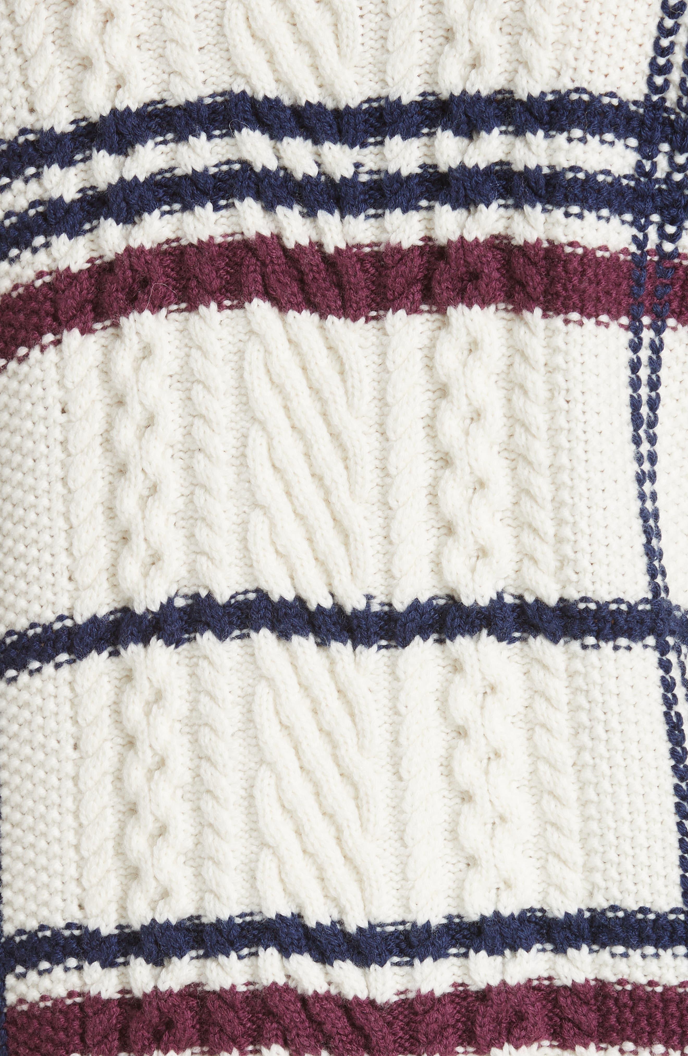 Ashlisa Sweater,                             Alternate thumbnail 5, color,                             PORCELAIN