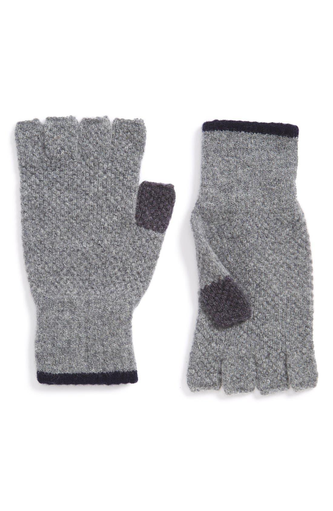 'Canna' Fingerless Wool Gloves,                             Main thumbnail 1, color,                             021