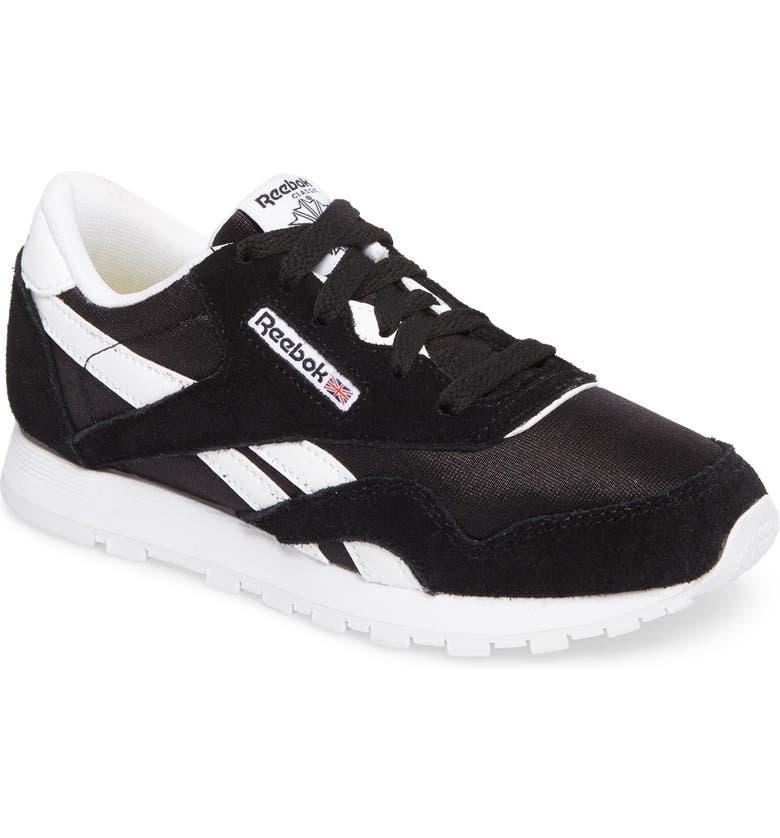 Reebok Classic Nylon Sneaker (Toddler 88ab26939