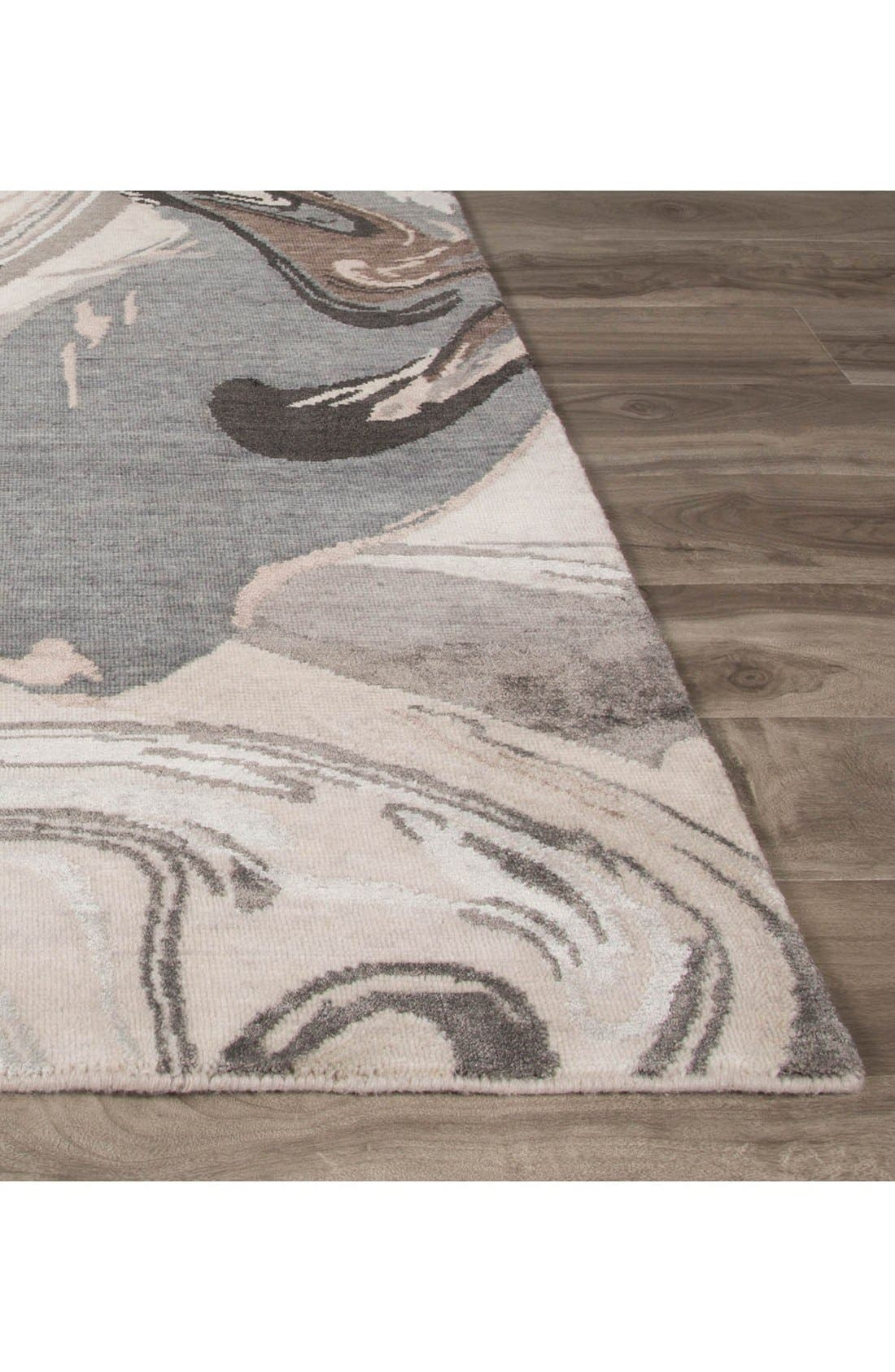 'noho' abstract wool blend rug,                             Alternate thumbnail 2, color,                             900