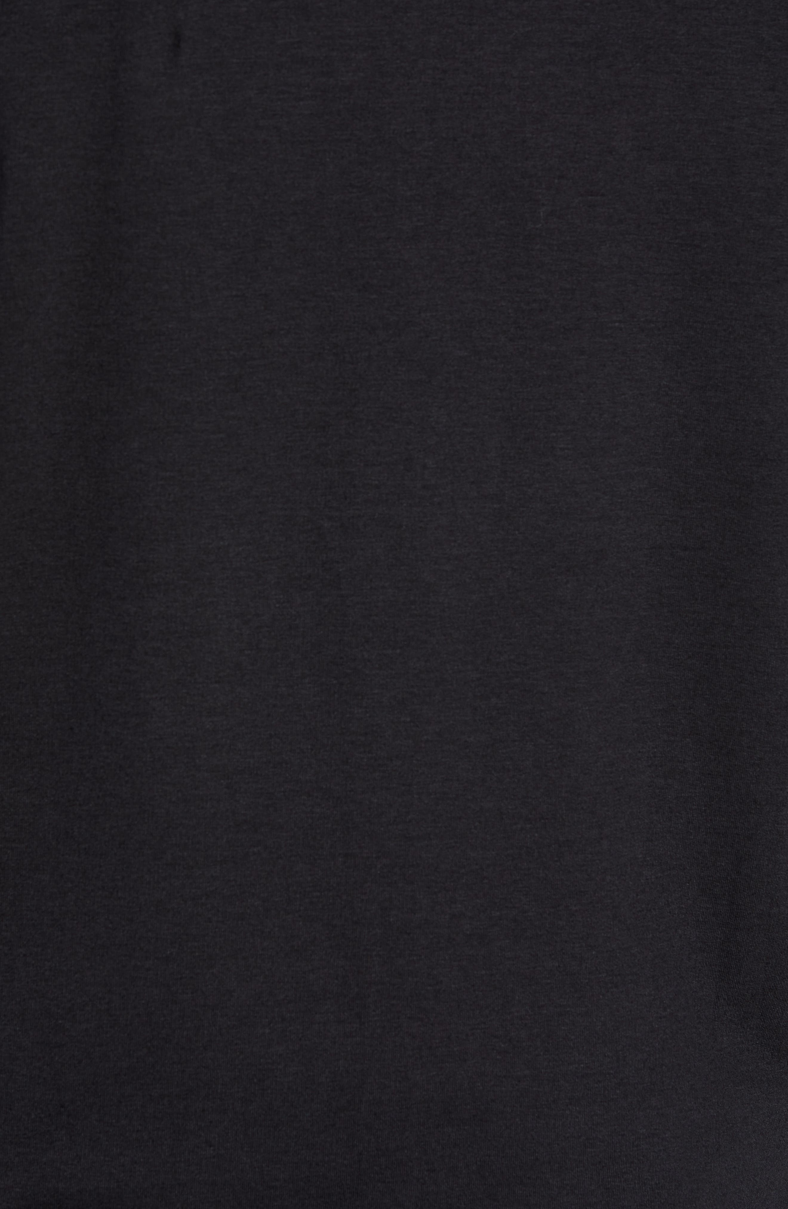 Tahoe II Fleece Jacket,                             Alternate thumbnail 6, color,                             BLACK