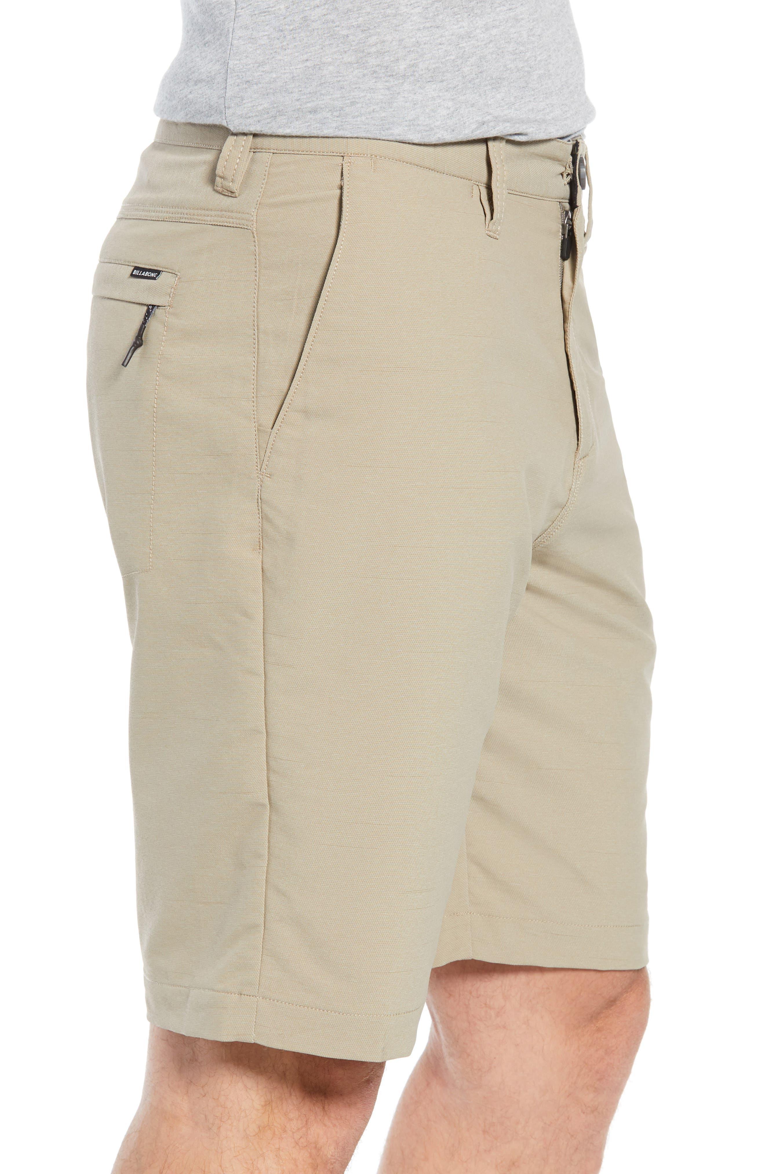 Surfreak Hybrid Shorts,                             Alternate thumbnail 3, color,                             KHAKI