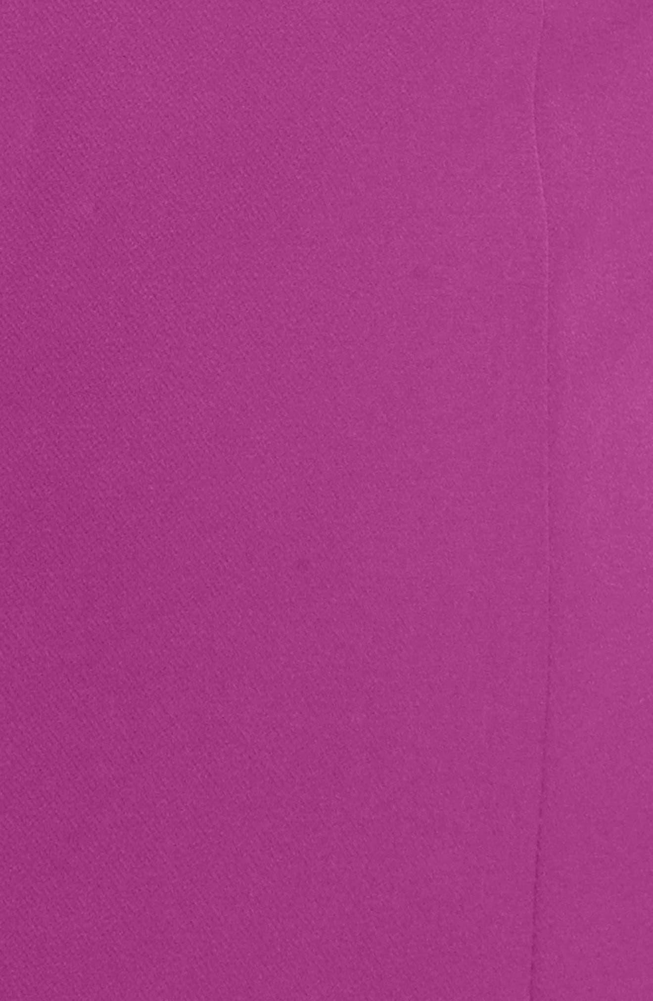 Italian Cady Gathered Sleeve Sheath Dress,                             Alternate thumbnail 6, color,                             569