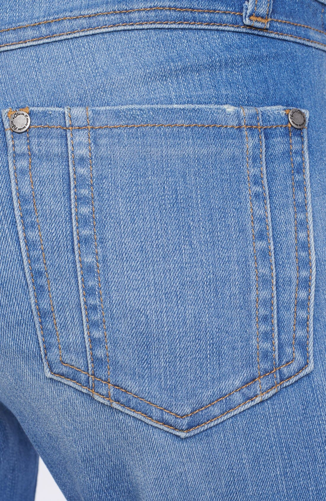 'Stacy' Distressed Bell Bottom Jeans,                             Alternate thumbnail 2, color,                             453