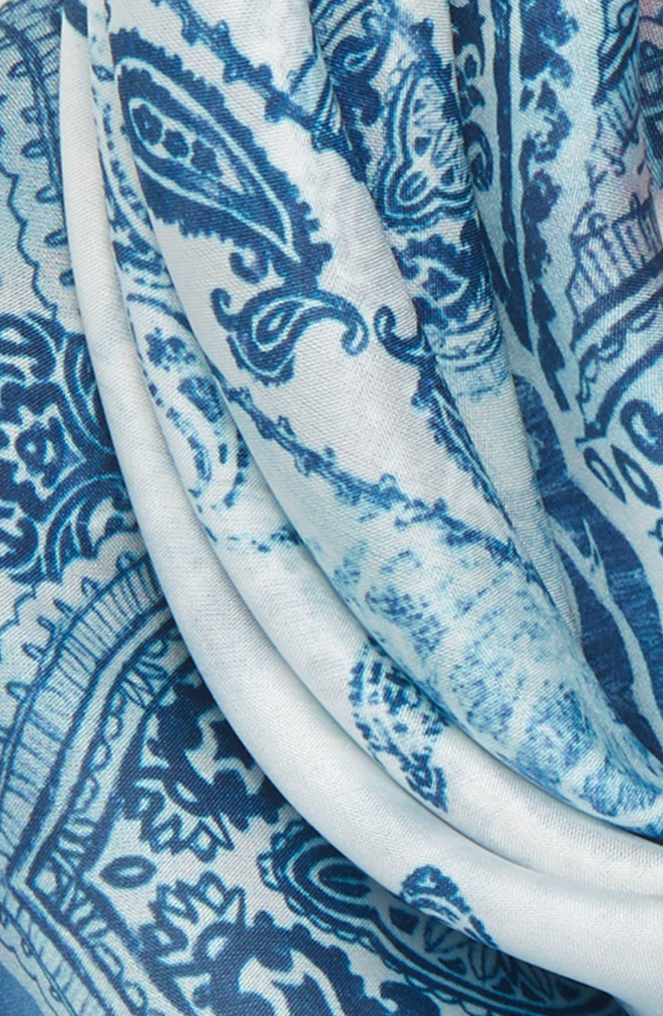 Print Silk Neckerchief,                             Alternate thumbnail 39, color,